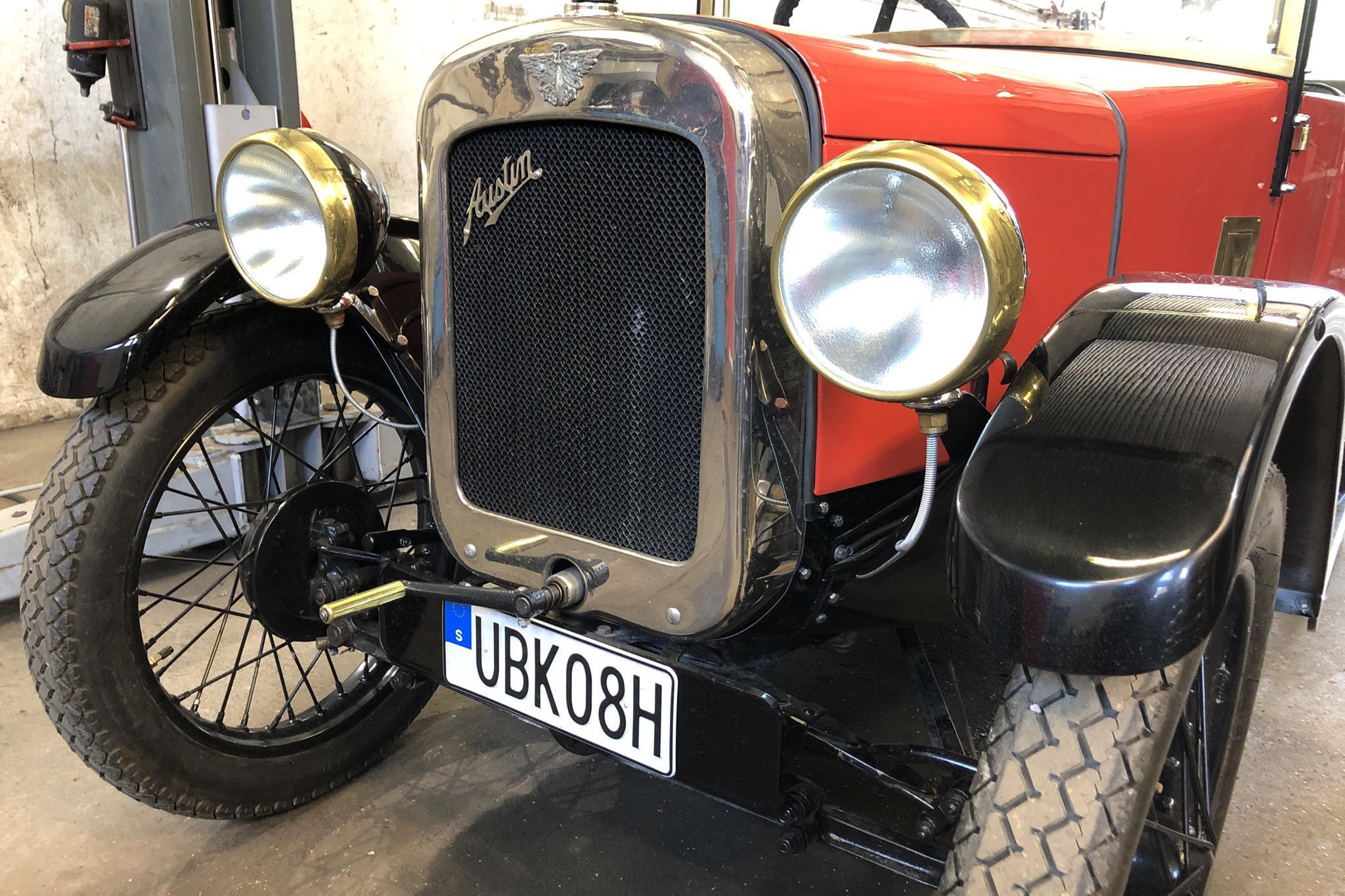 Austin 7 Cabriolet 0.75 (10hk) - 87 170 km - Manual - red - 1929