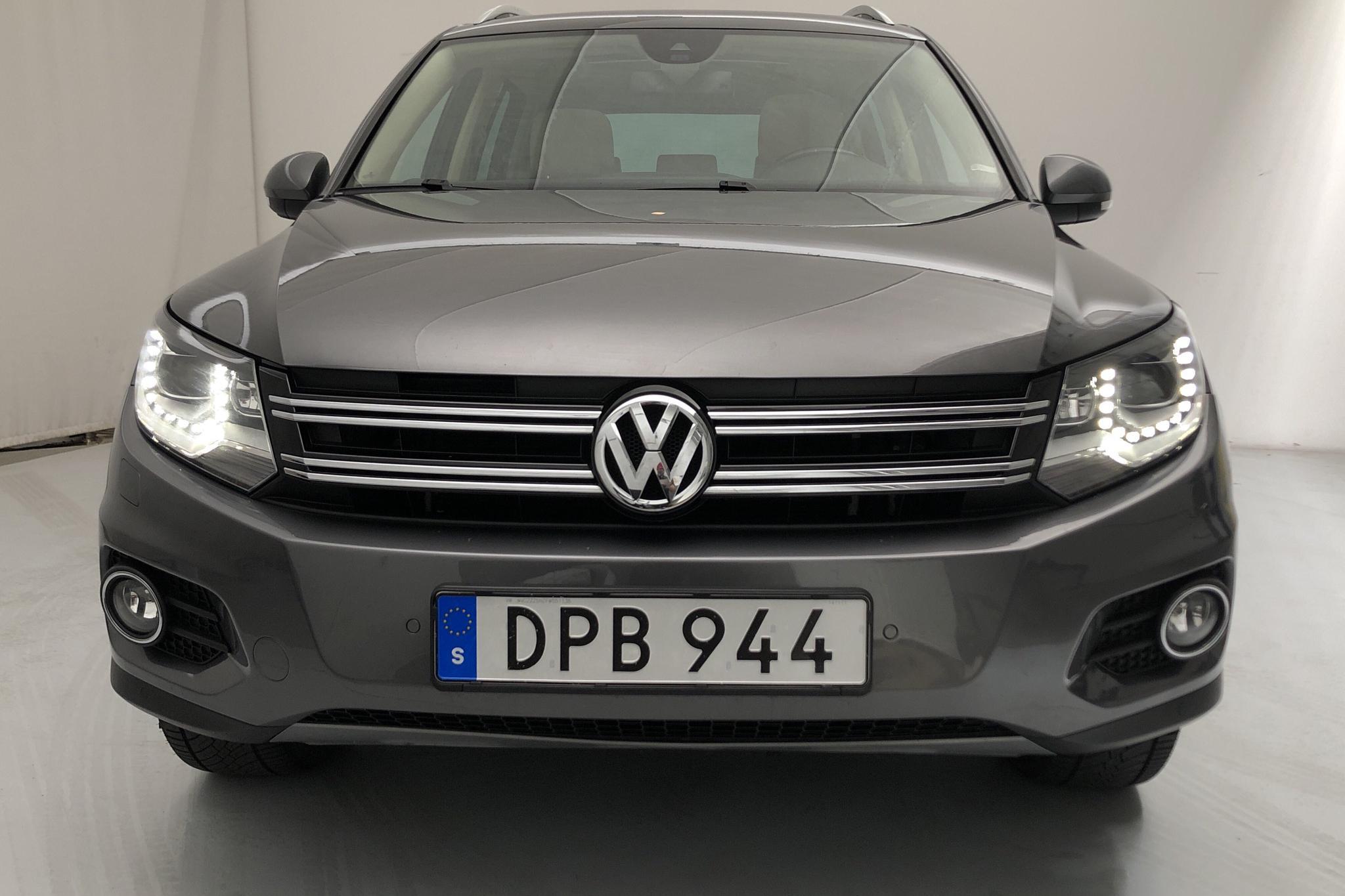 VW Tiguan 2.0 TDI 4MOTION BlueMotion Technology (177hk) - 107 740 km - Automatic - Dark Grey - 2015