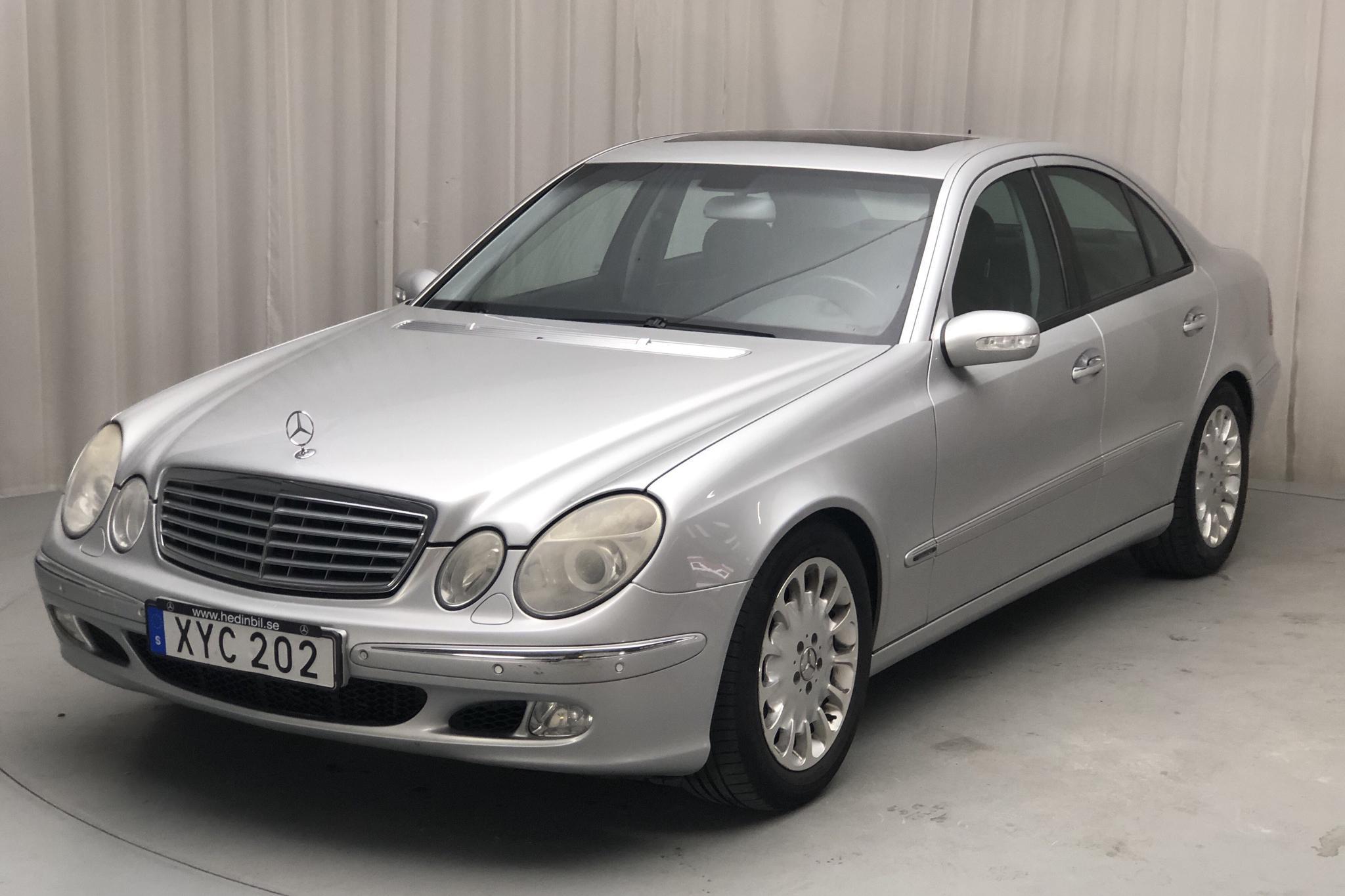 Mercedes E 500 W211 (306hk) - 265 060 km - Automatic - silver - 2002
