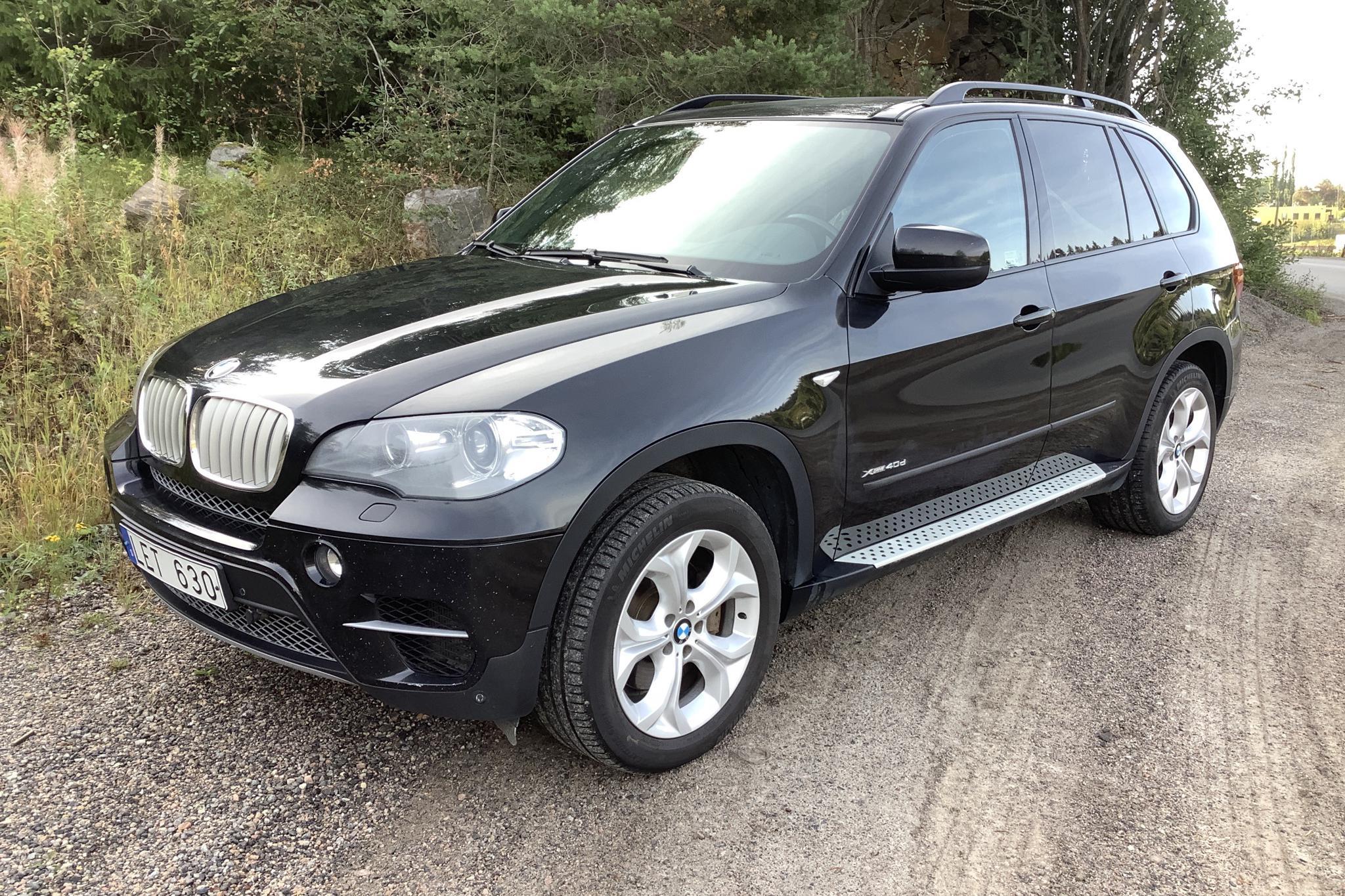 BMW X5 xDrive40d, E70 (306hk) - 18 904 mil - Automat - svart - 2011