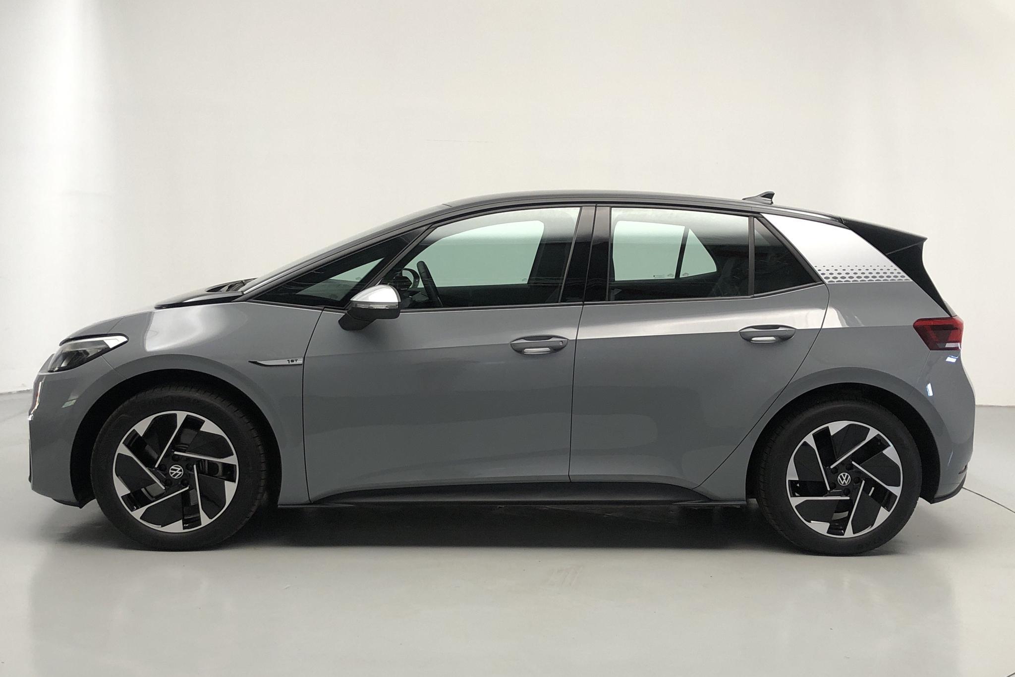 VW ID.3 58kWh (204hk) - 6 100 km - Automatic - gray - 2021