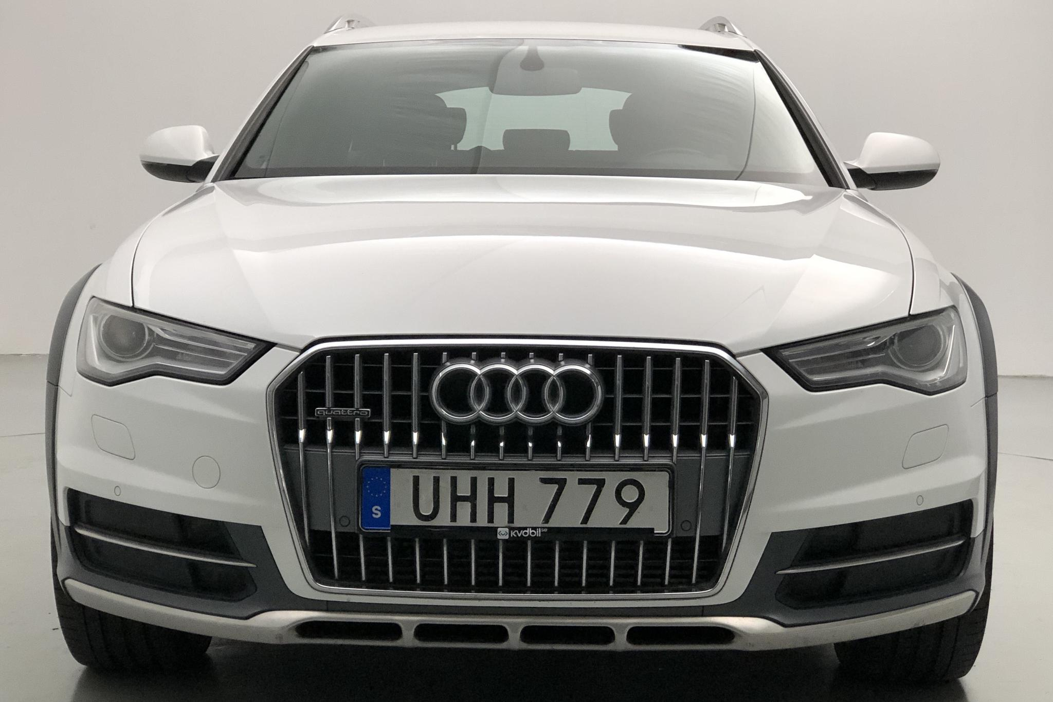 Audi A6 Allroad 3.0 TDI quattro (218hk) - 129 890 km - Automatic - white - 2015