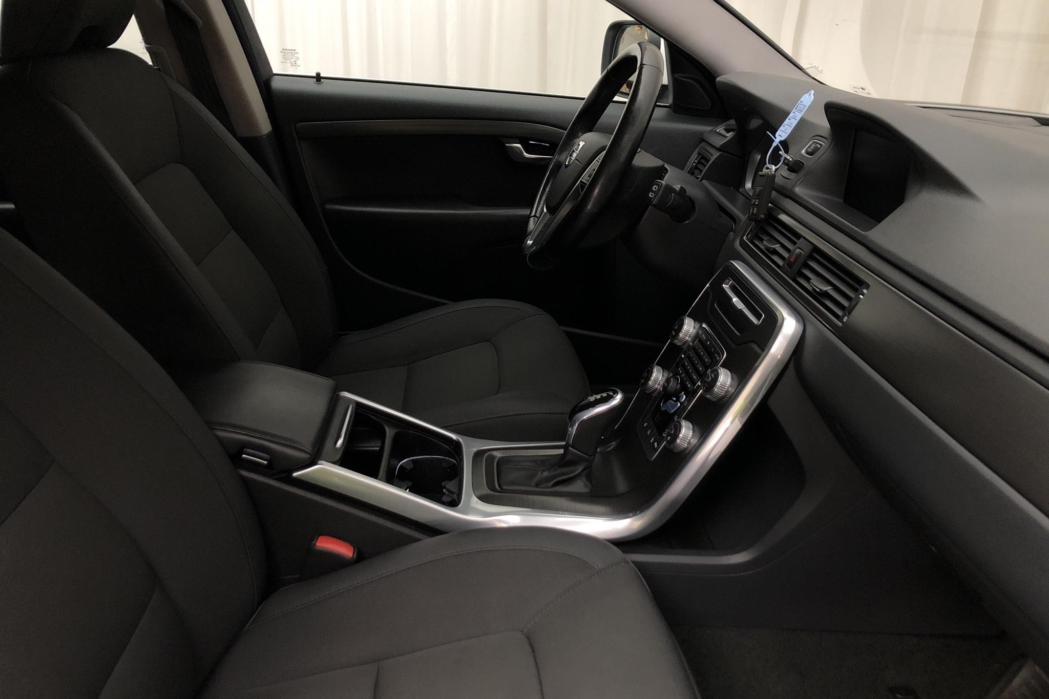 Volvo XC70 II D4 AWD (181hk) - 86 900 km - Automatic - white - 2016