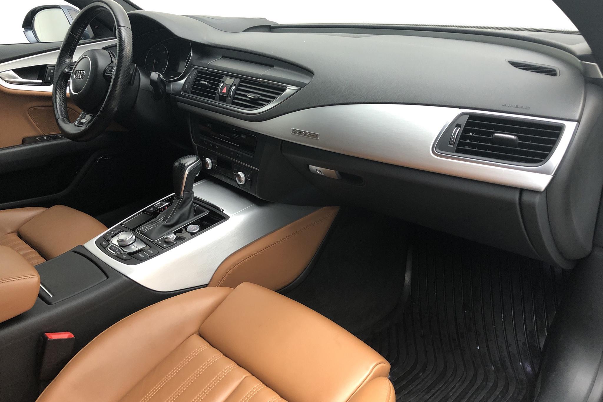 Audi A7 3.0 TDI Sportback quattro (272hk) - 11 500 mil - Automat - blå - 2016