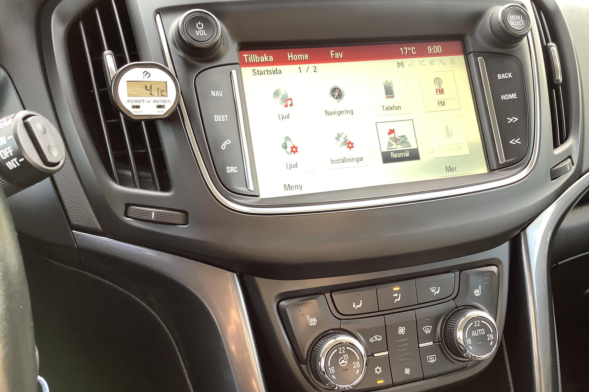 Opel Zafira 2.0 CDTI ECOTEC (170hk) - 6 046 mil - Automat - grå - 2017