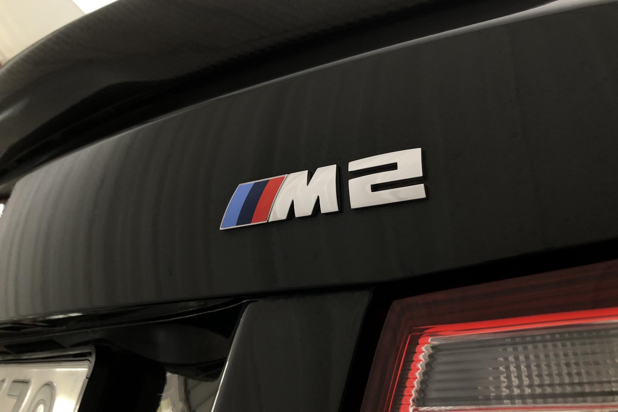BMW M2 Coupé, F87 (370hk) - 1 395 mil - Manuell - svart - 2017