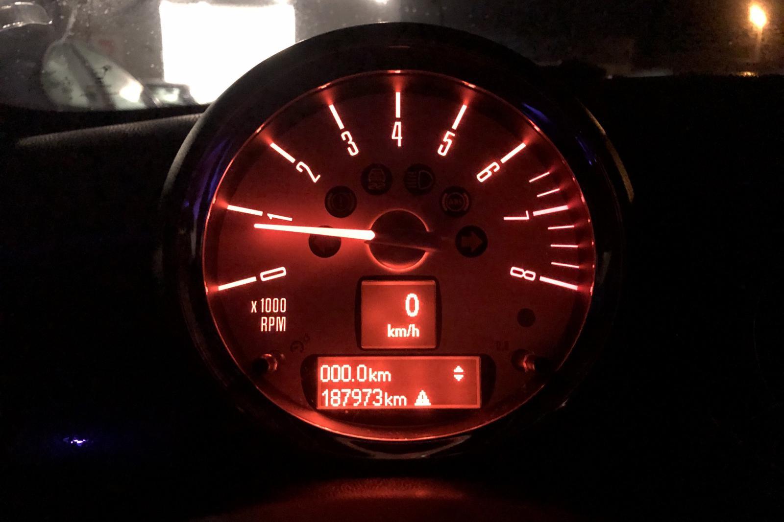MINI Cooper S Coupé (184hk) - 18 797 mil - Manuell - röd - 2012