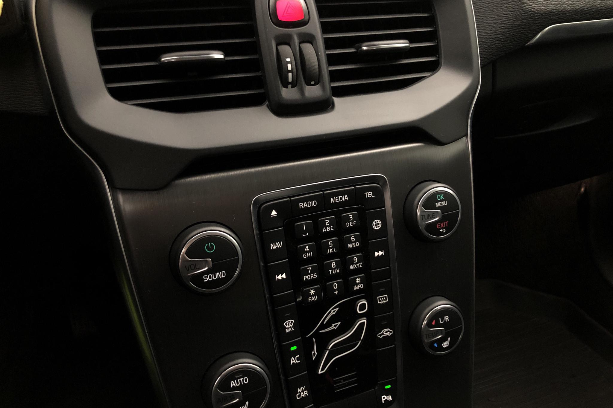 Volvo V40 D3 (150hk) - 65 960 km - Manual - silver - 2016