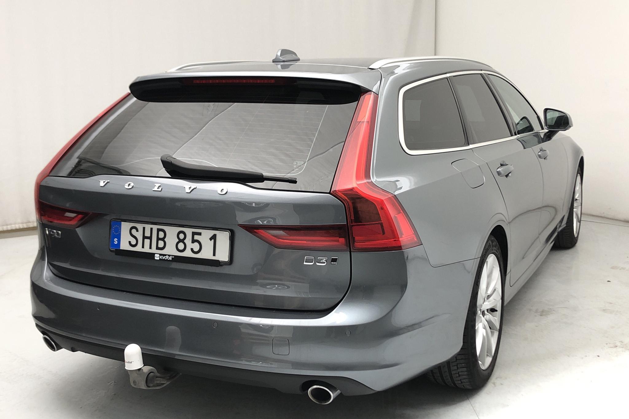 Volvo V90 D3 AWD (150hk) - 77 570 km - Automatic - gray - 2019