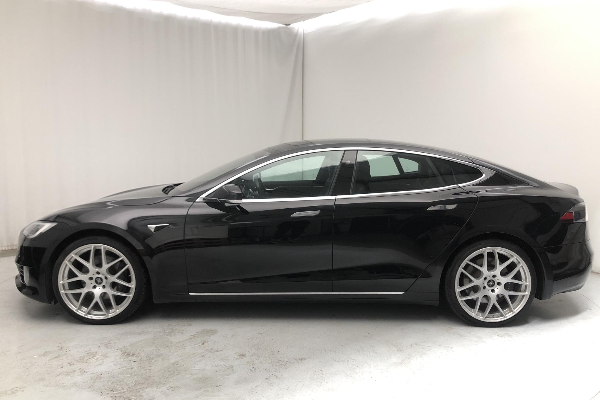 Tesla Model S 60 - 6 164 mil - Automat - svart - 2017