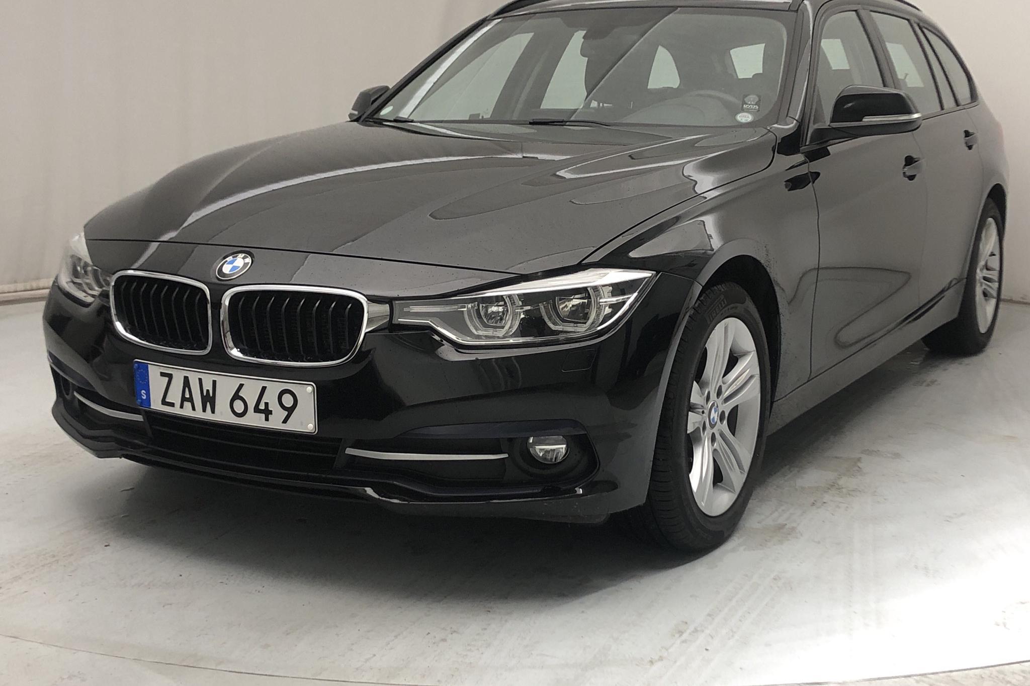 BMW 318d Touring, F31 (150hk) - 81 890 km - Automatic - black - 2018