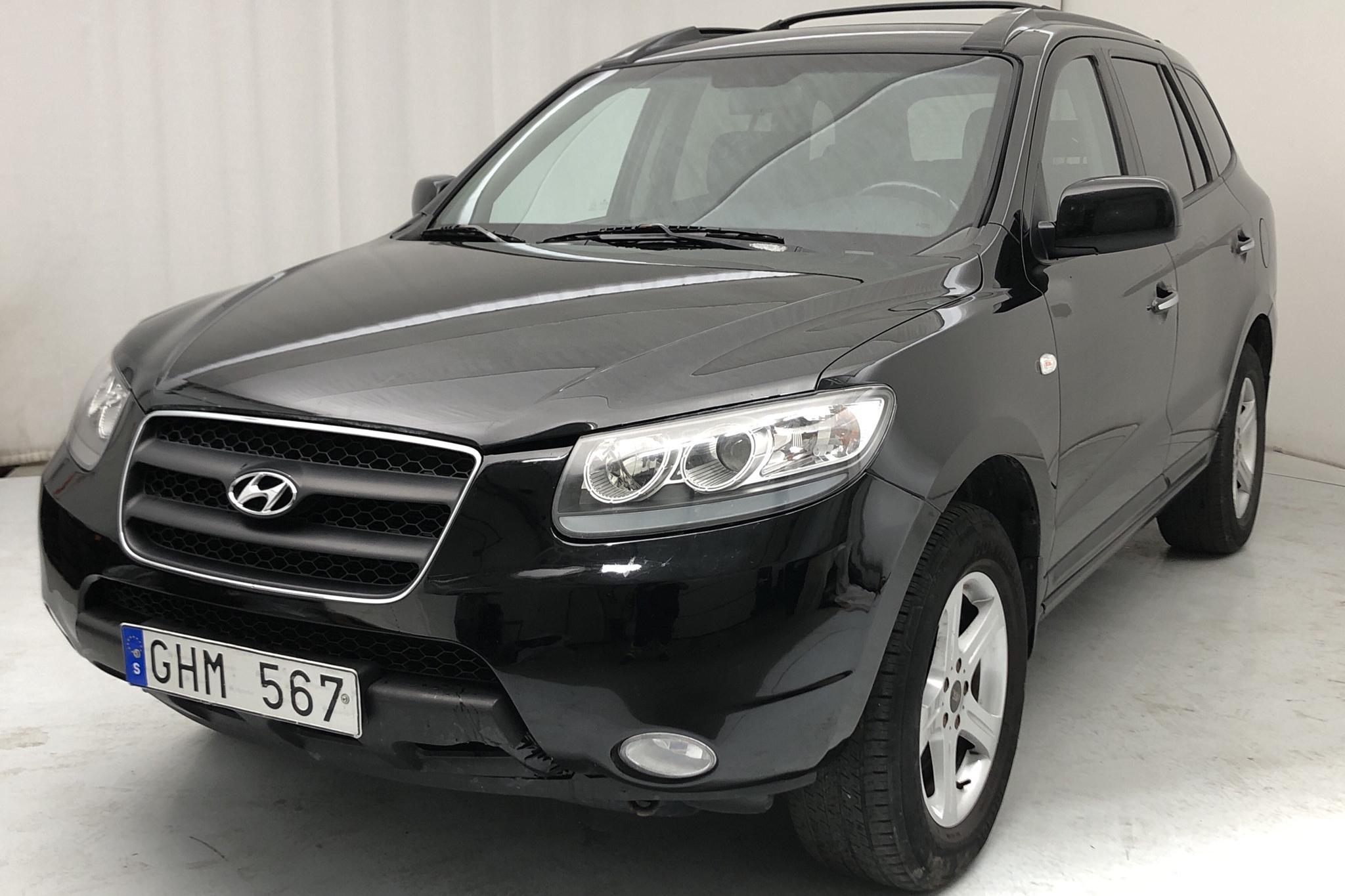 Hyundai Santa Fé 2.2 CRDi (155hk) - 166 820 km - Automatic - black - 2008
