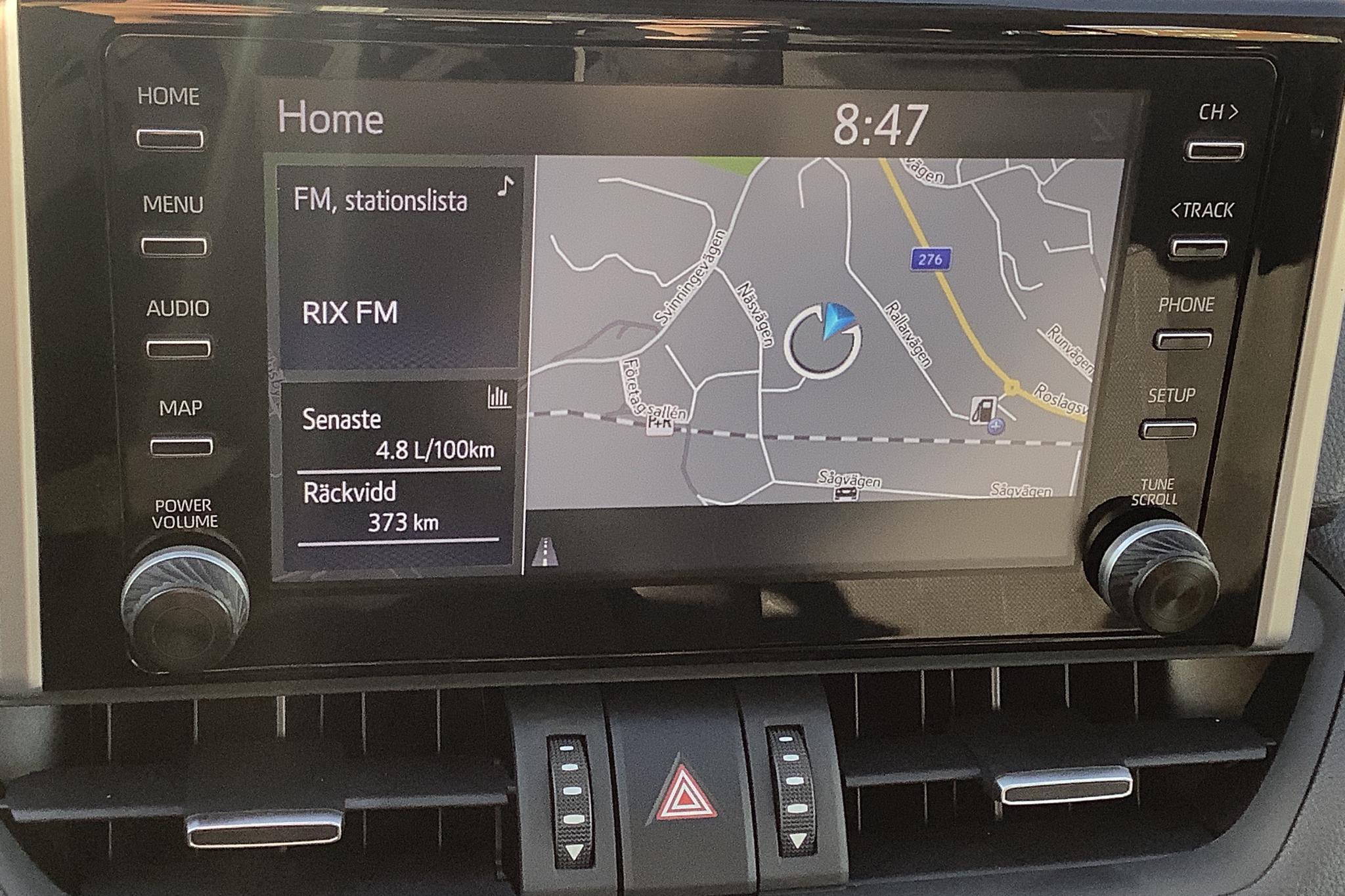 Toyota RAV4 2.5 HSD (218hk) - 1 742 mil - Automat - silver - 2019