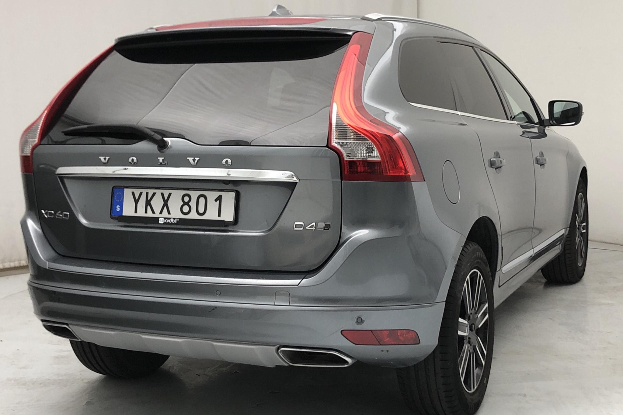 Volvo XC60 D4 AWD (190hk) - 9 429 mil - Manuell - grå - 2017