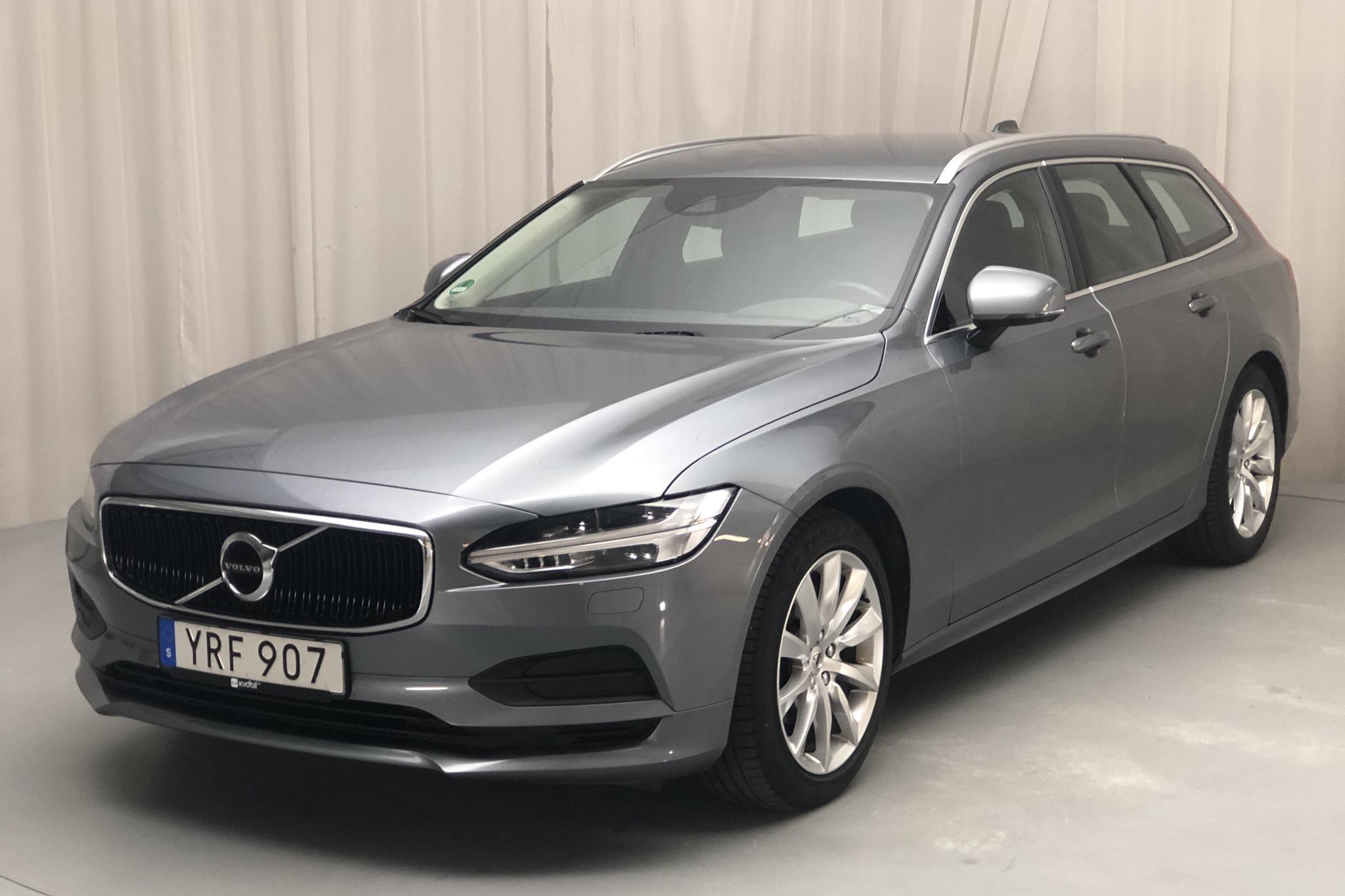 Volvo V90 D3 AWD (150hk) - 8 266 mil - Automat - grå - 2019
