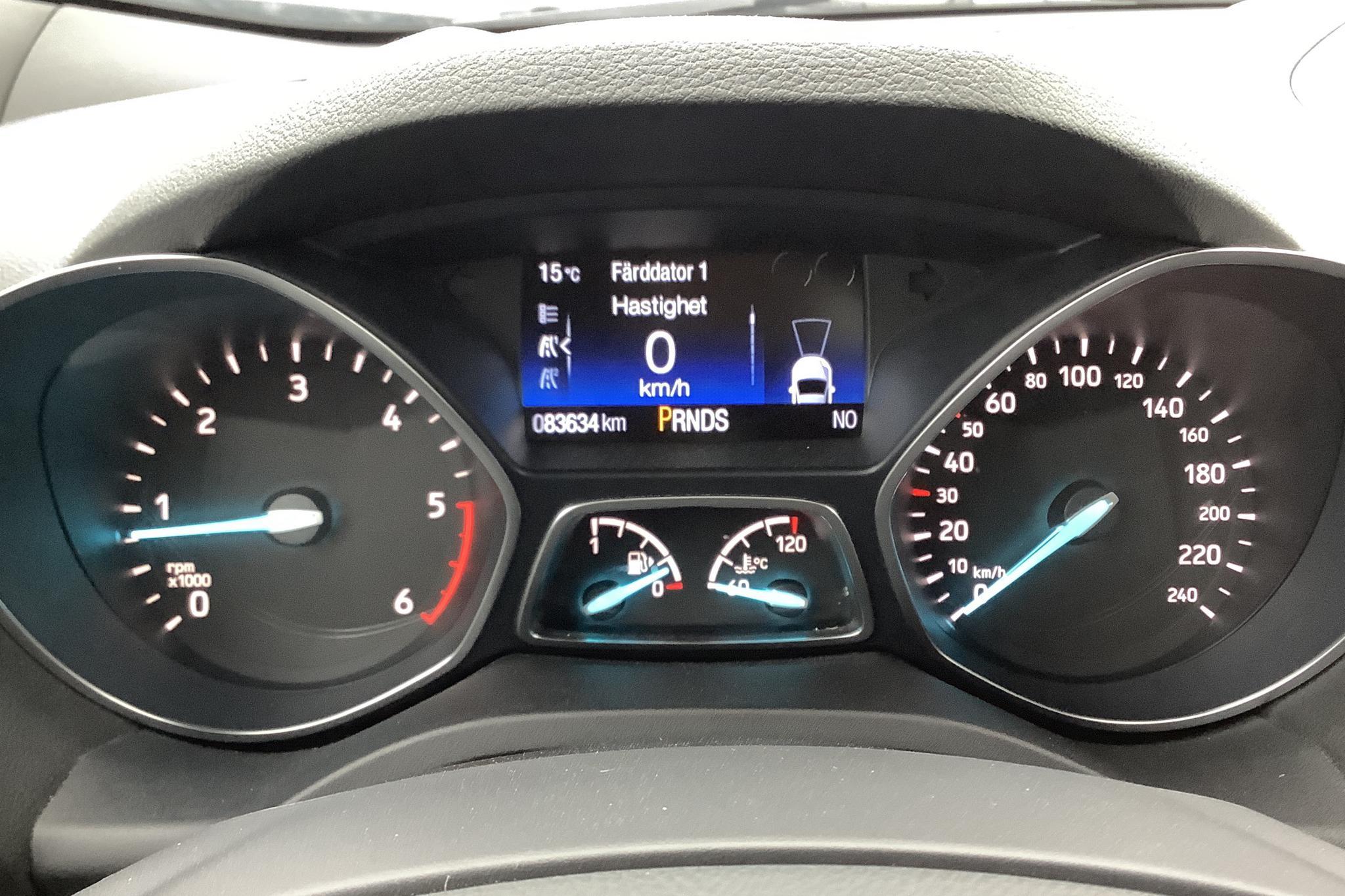 Ford Kuga 2.0 TDCi AWD (180hk) - 8 363 mil - Automat - svart - 2017