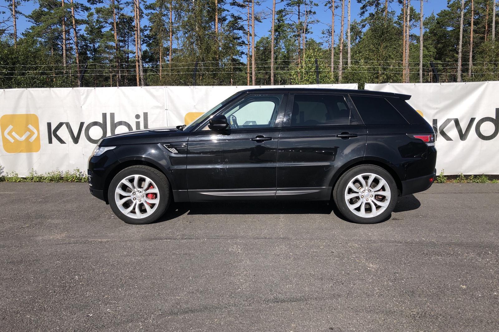 Land Rover Range Rover Sport 4.4 SDV8 (339hk) - 161 510 km - Automatic - black - 2014