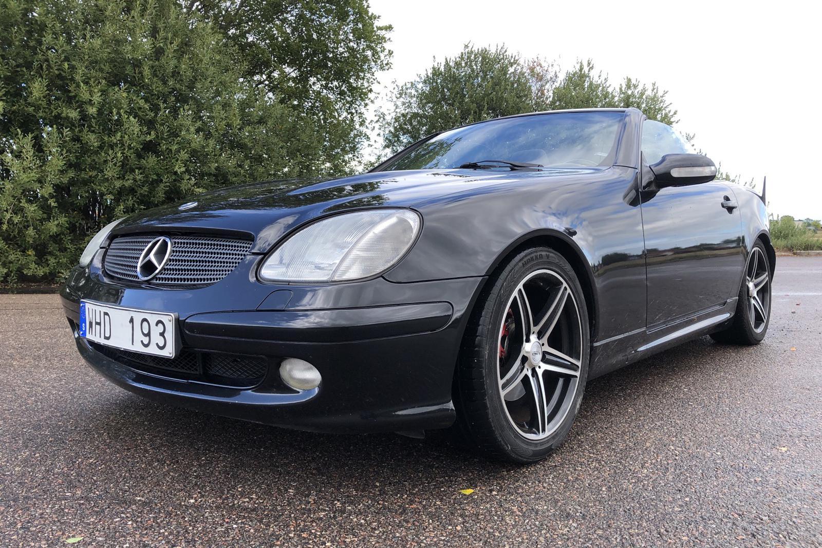 Mercedes SLK 230 Kompressor R170 (197hk) - 157 370 km - Manual - black - 2002