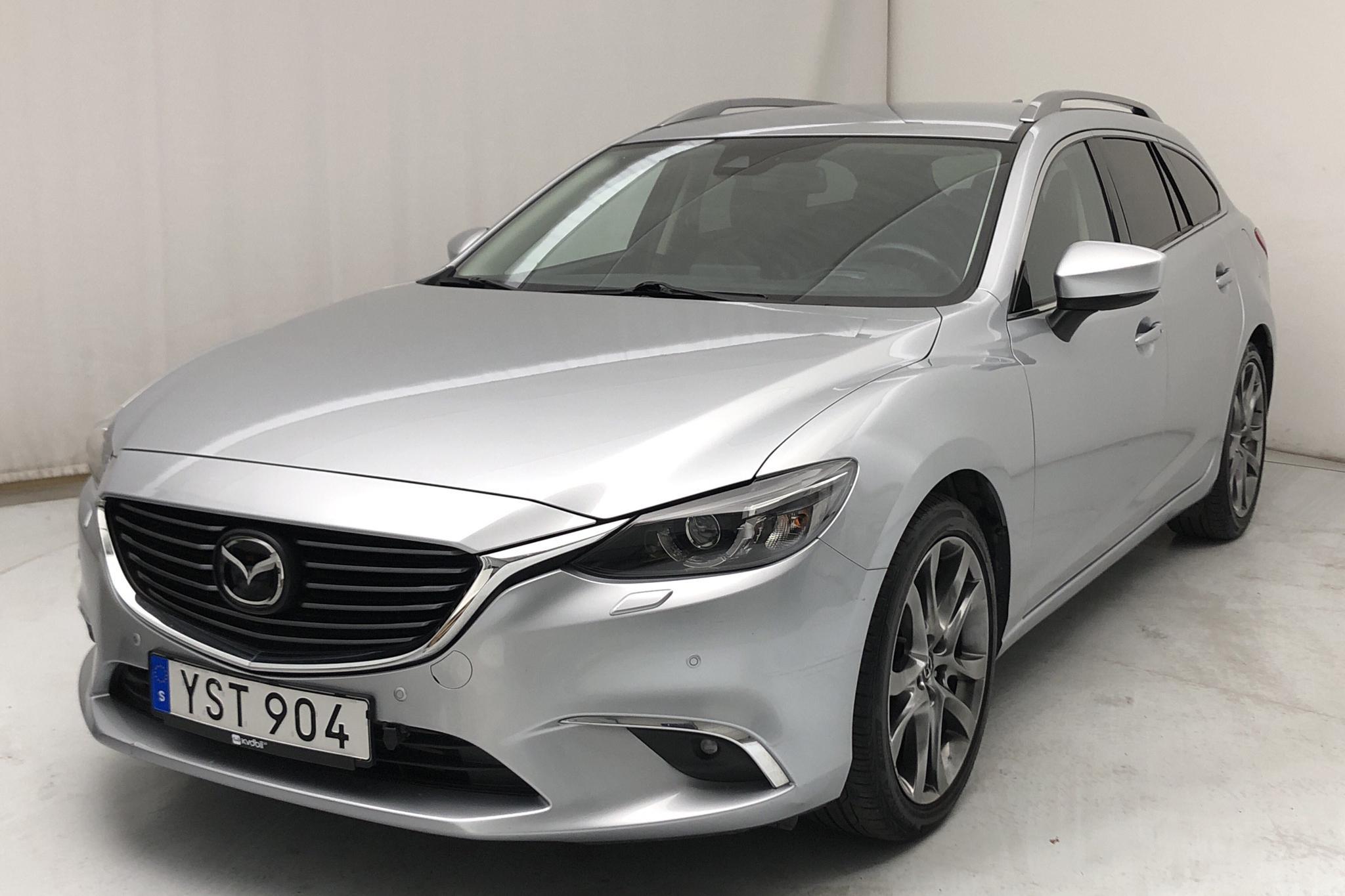 Mazda 6 2.2 DE Kombi AWD (175hk) - 42 520 km - Automatic - gray - 2017