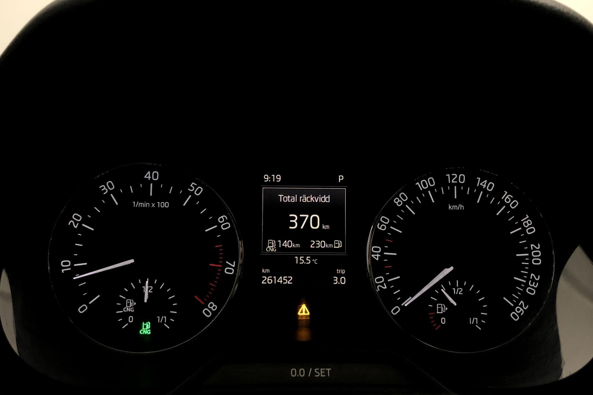 Skoda Octavia III 1.4 TSI G-TEC Combi (110hk) - 261 440 km - Automatic - red - 2017