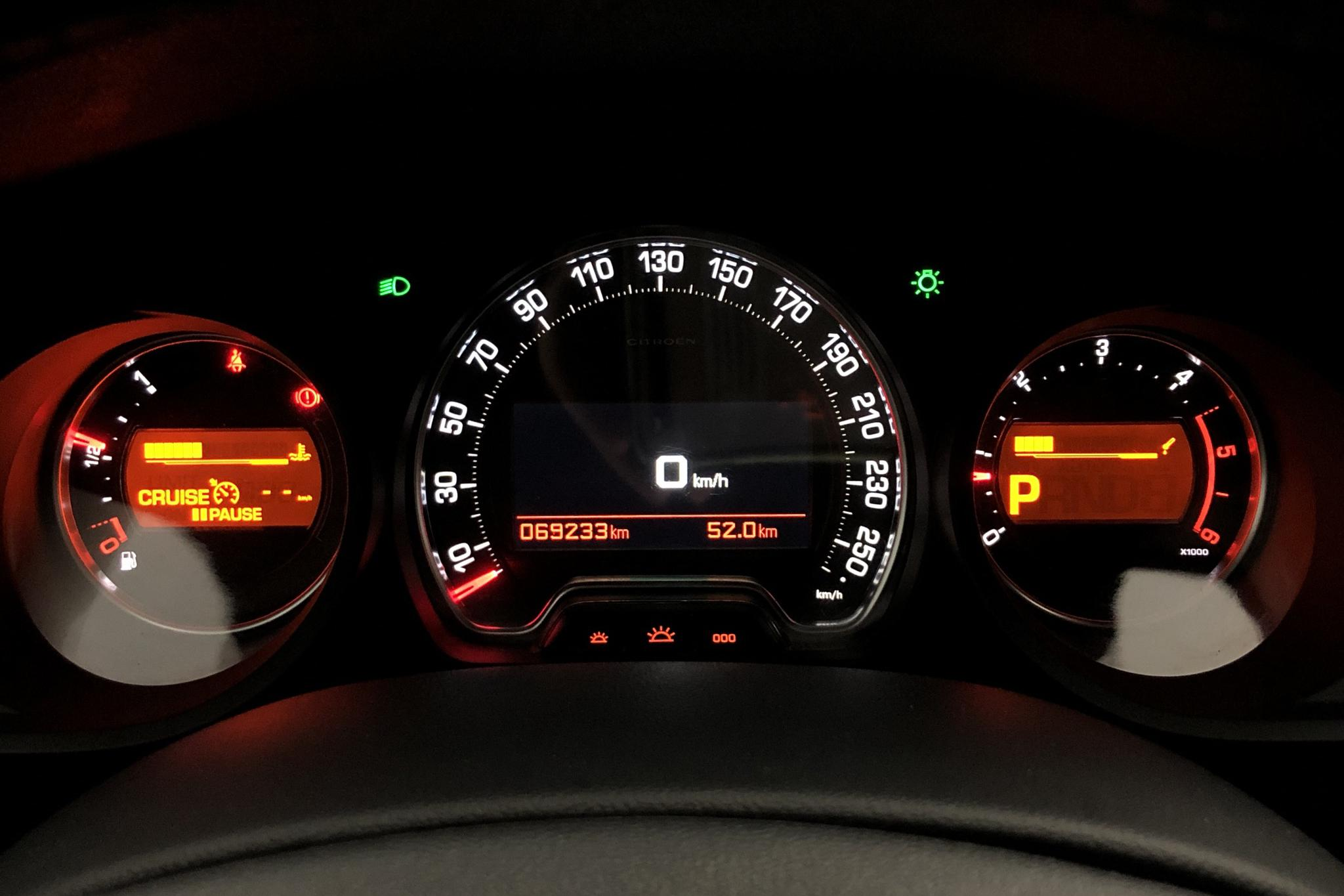 Citroen C5 III 2.0 BlueHDi Tourer (180hk) - 69 230 km - Automatic - blue - 2016