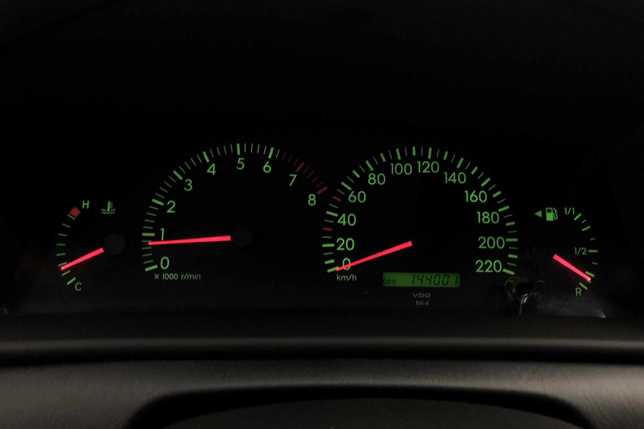 Toyota Corolla 1.4 5dr (97hk) - 143 990 km - Manual - silver - 2004