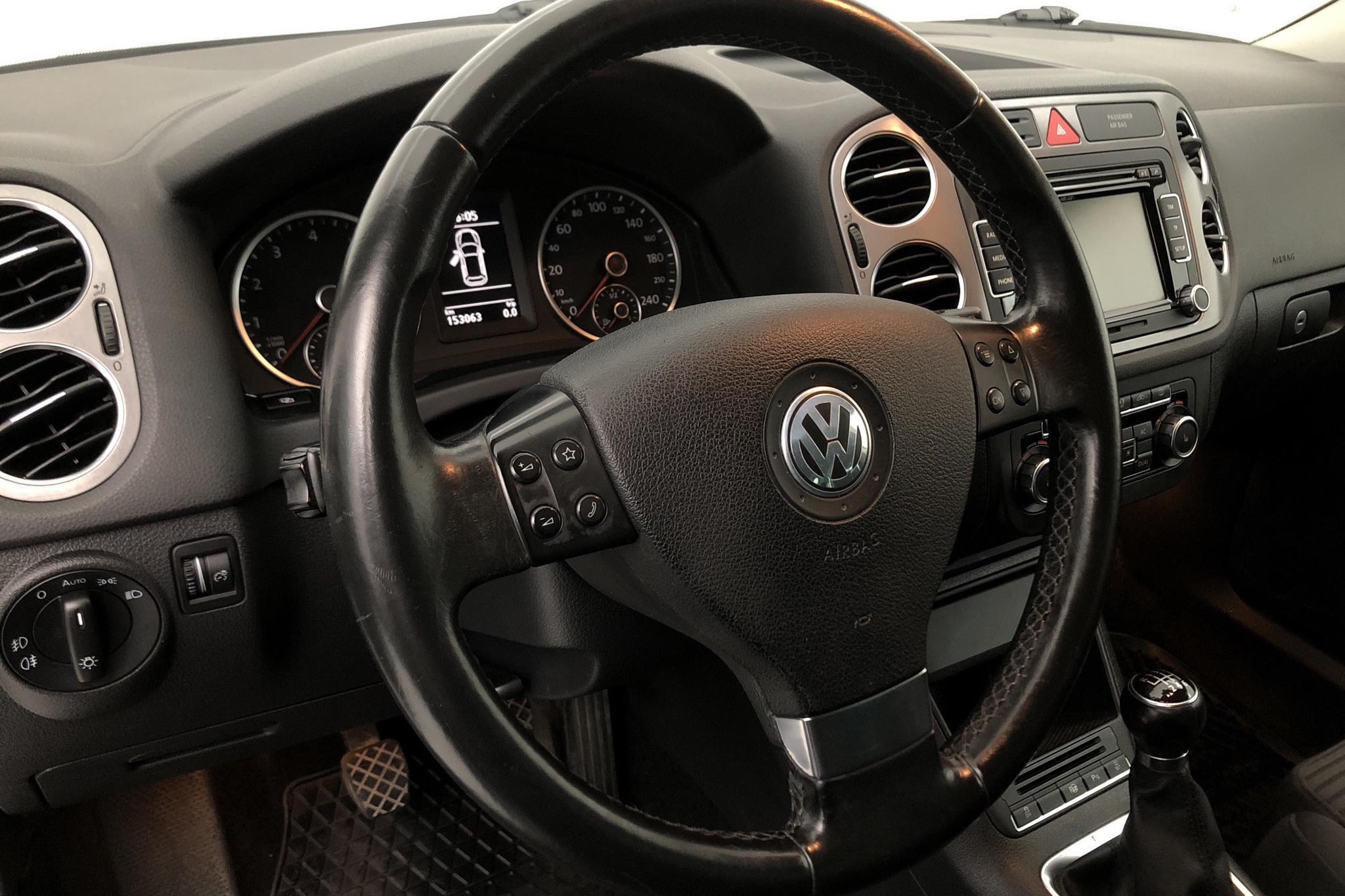 VW Tiguan 1.4 TSI (150hk) - 153 060 km - Manual - white - 2010