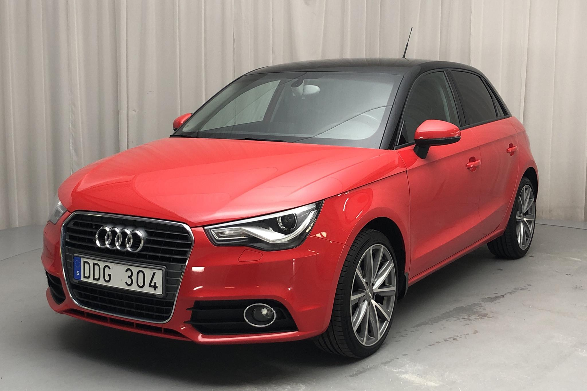 Audi A1 1.4 TFSI Sportback (140hk) - 10 478 mil - Manuell - röd - 2014