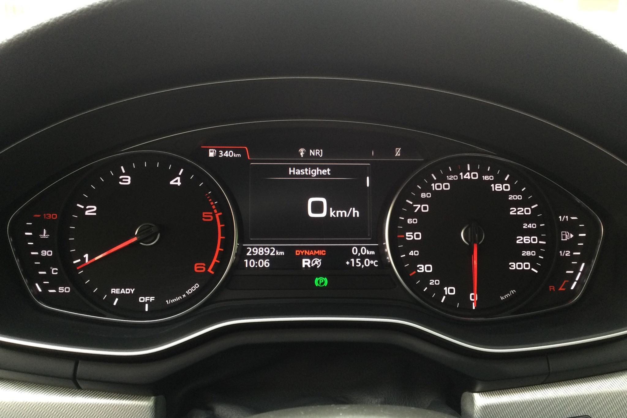 Audi A4 2.0 TDI Avant quattro (190hk) - 29 910 km - Automatic - black - 2018