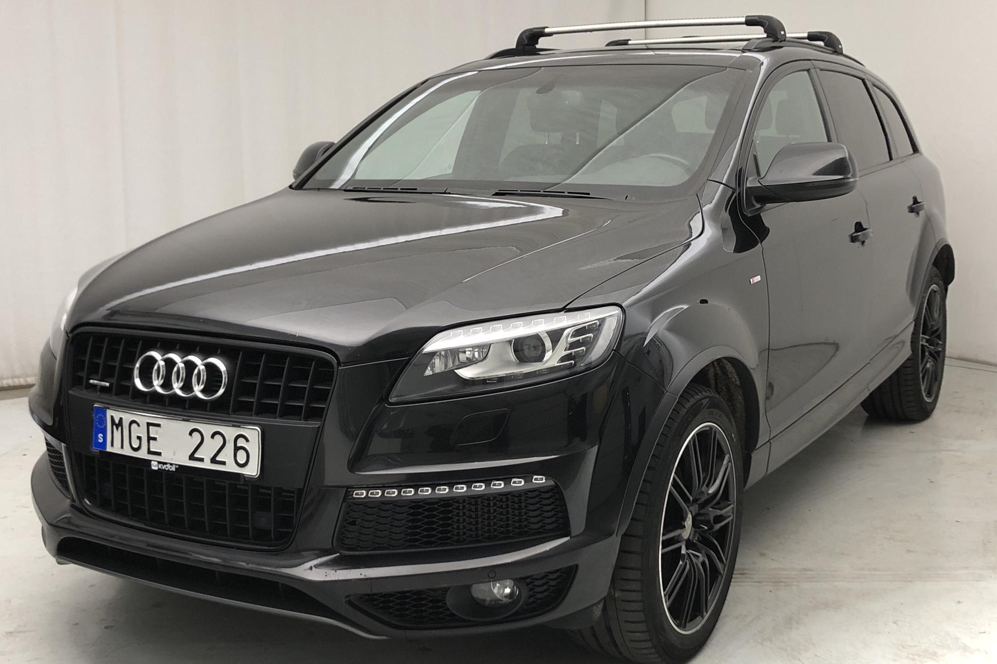 Audi Q7 3.0 TDI quattro (245hk) - 135 130 km - Automatic - black - 2012