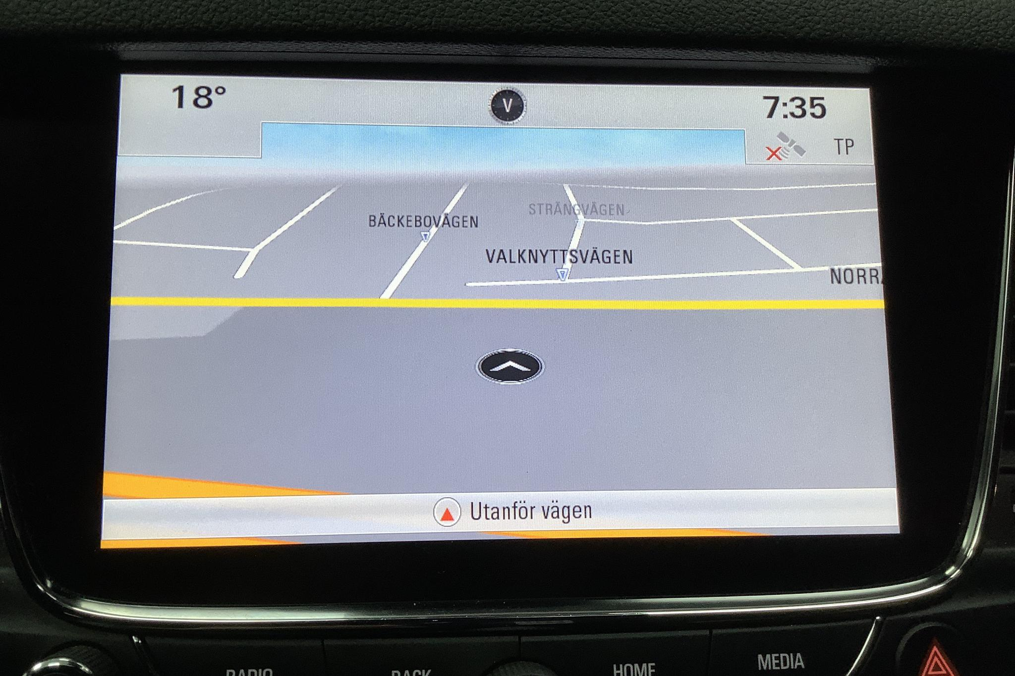 Opel Astra 1.6 CDTI ECOTEC SportsTourer (136hk) - 8 615 mil - Automat - grå - 2017