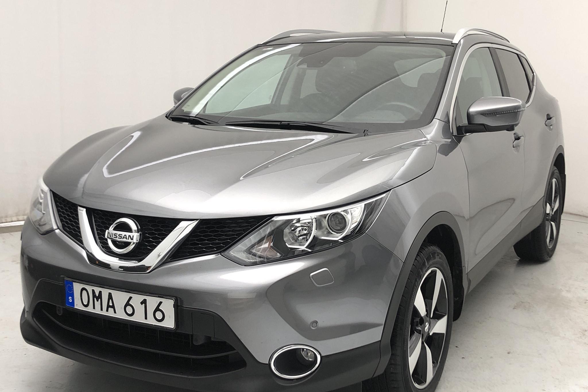 Nissan Qashqai 1.6 dCi (130hk) - 63 600 km - Manual - gray - 2017