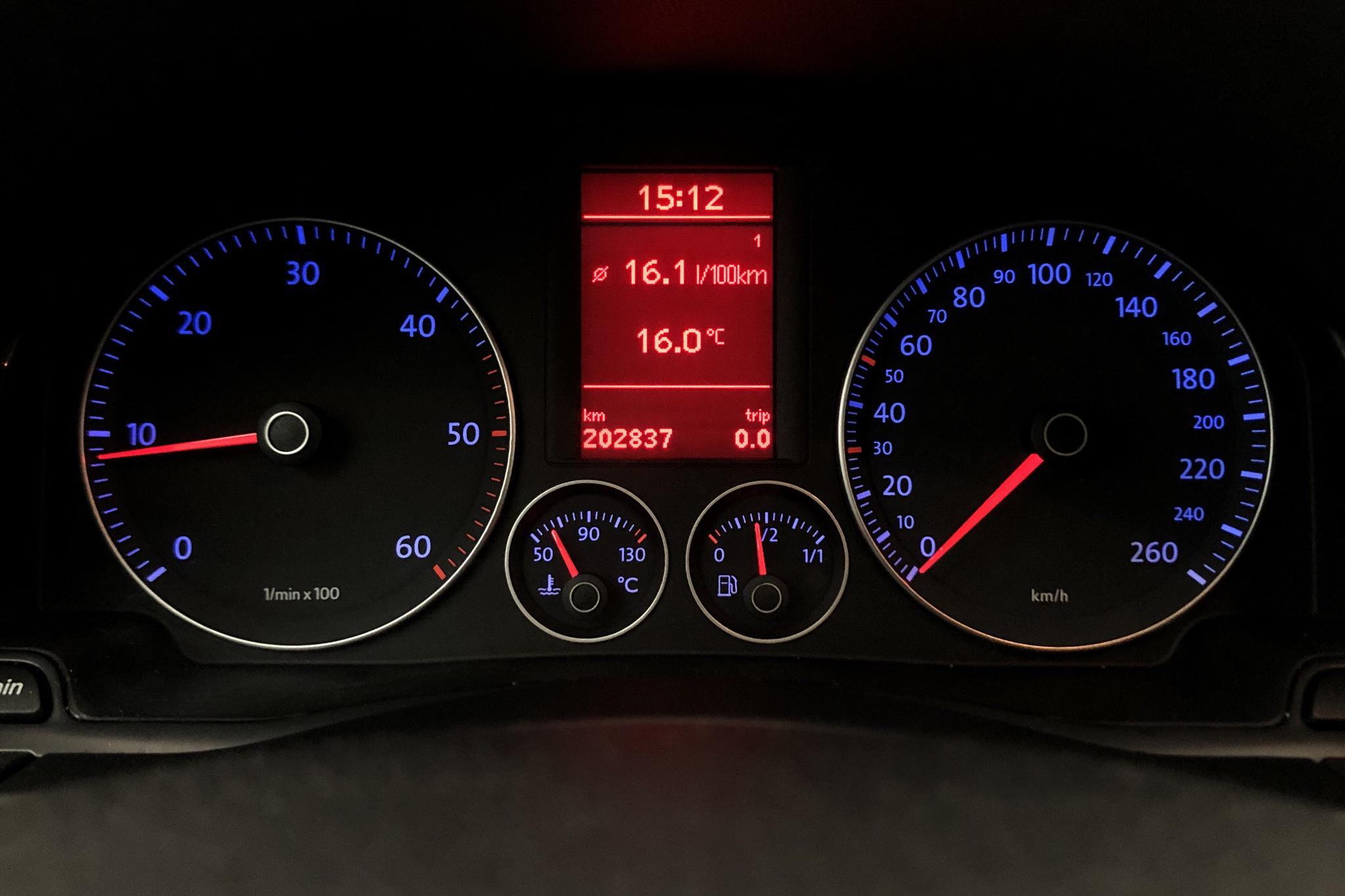 VW Golf A5 2.0 TDI 5dr 4Motion (140hk) - 202 830 km - Manual - 2007