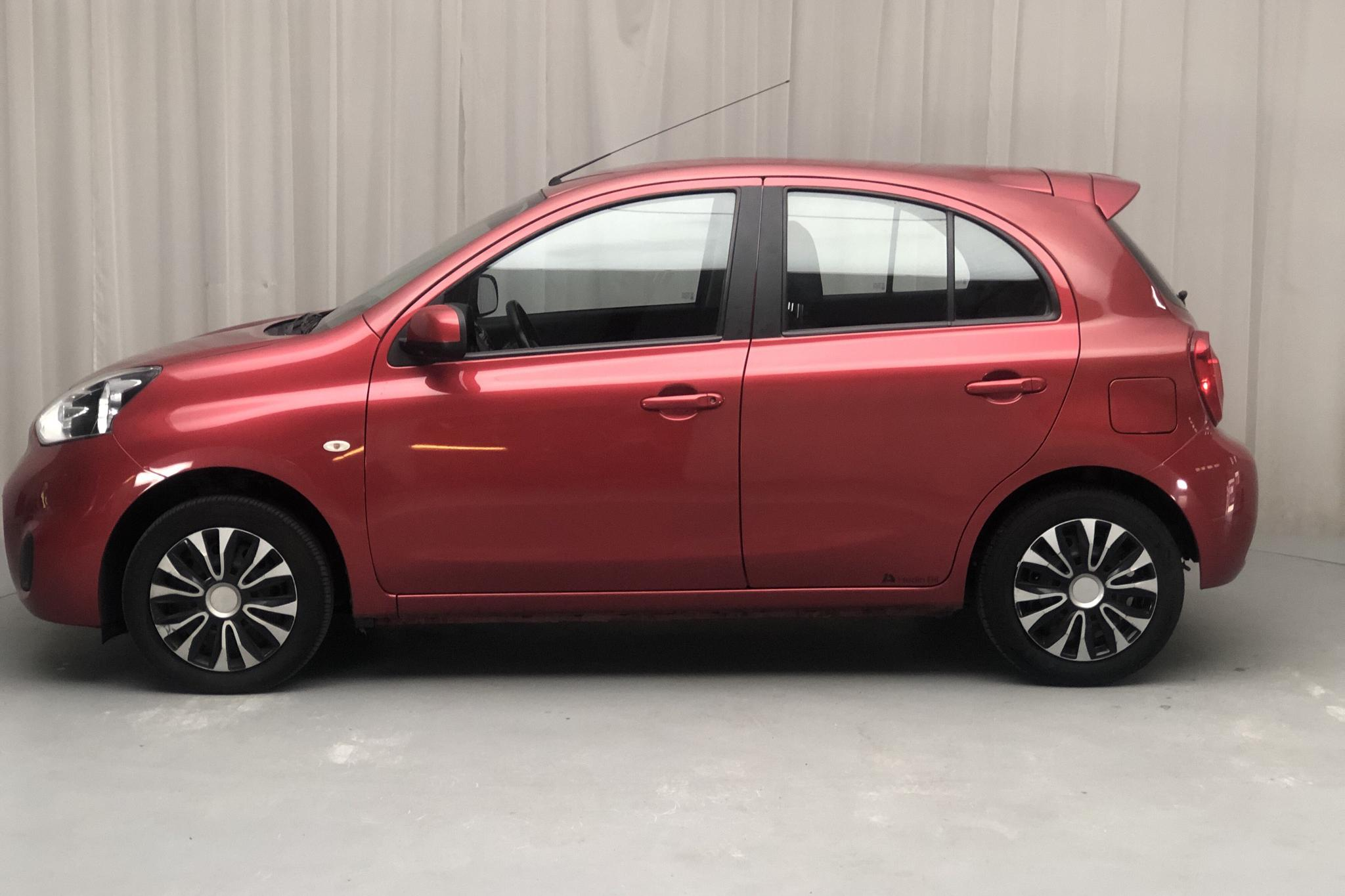 Nissan Micra 1.2 5dr (80hk) - 122 370 km - Automatic - red - 2016