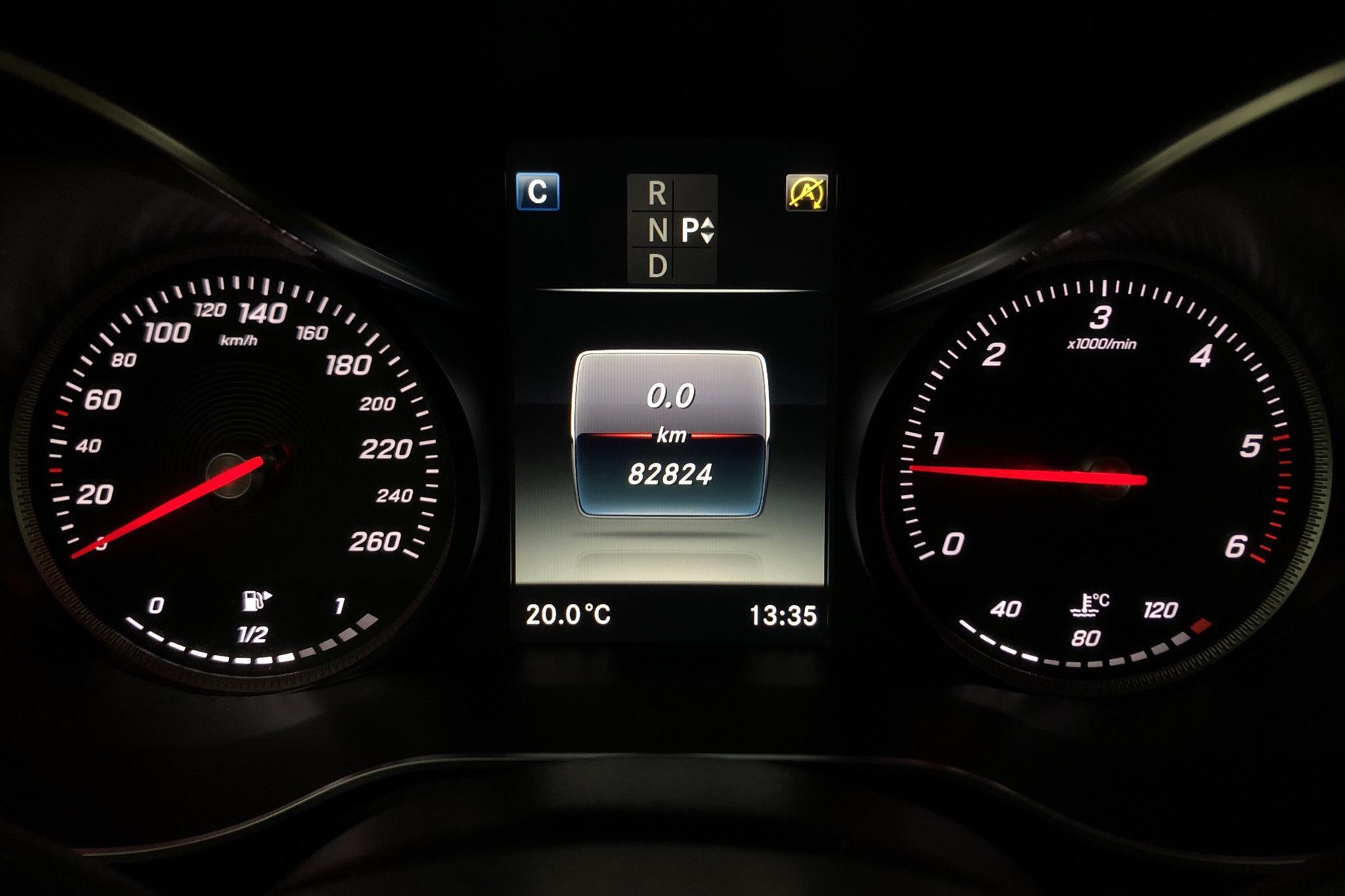 Mercedes GLC 220 d 4MATIC X253 (170hk) - 82 820 km - Automatic - red - 2018