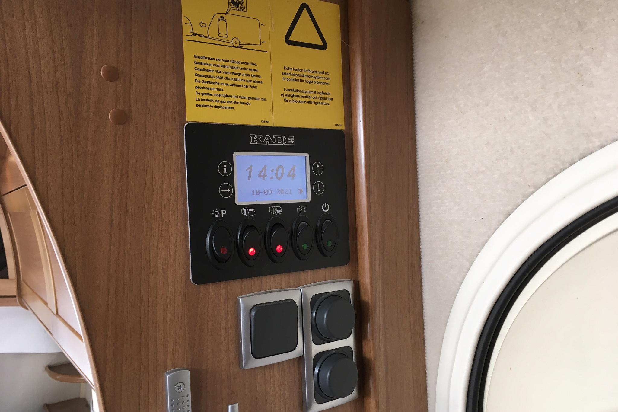 KABE Royal 780 ETDL KS Husvagn - 0 km - white - 2009