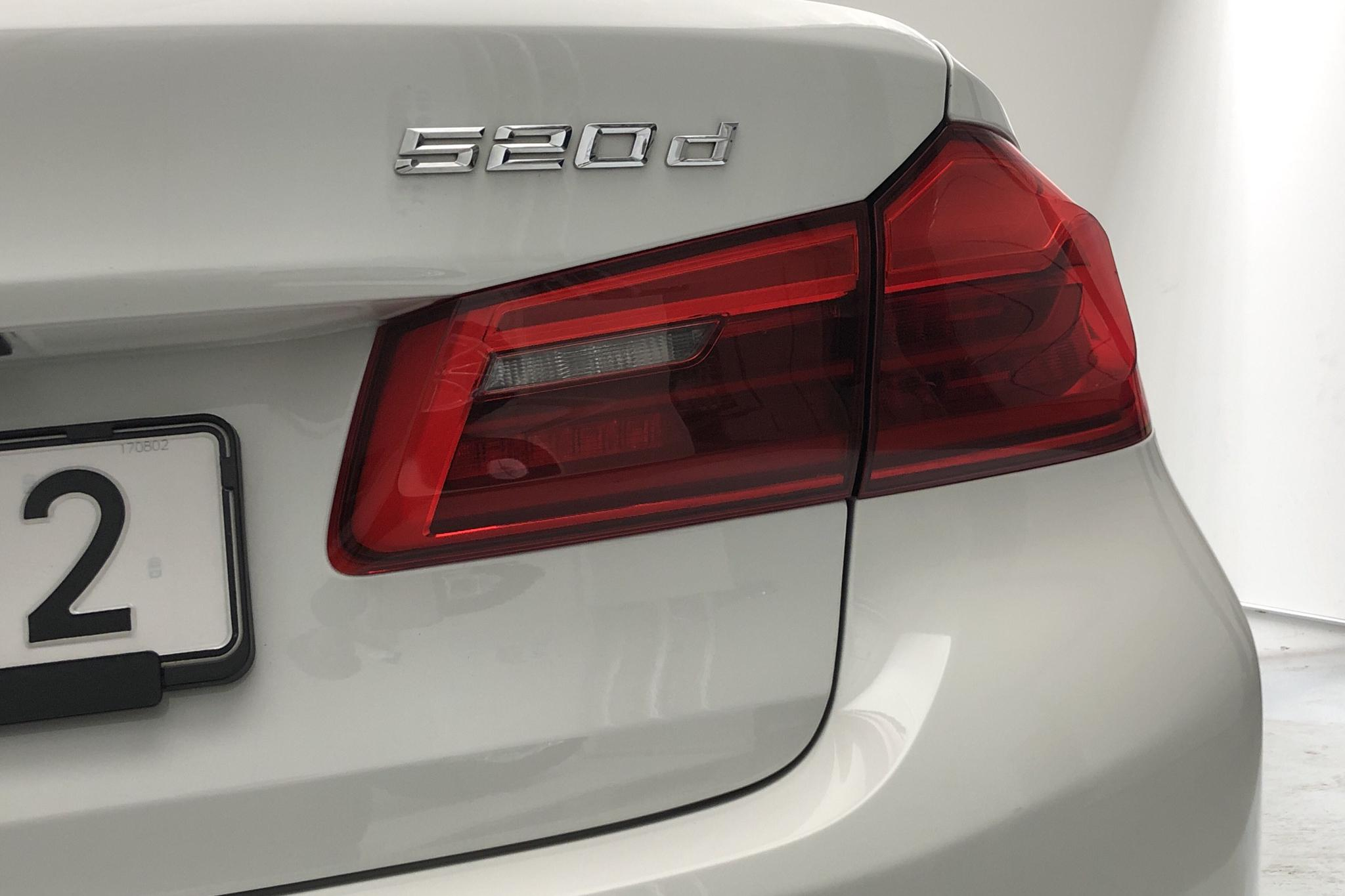 BMW 520d Sedan, G30 (190hk) - 11 438 mil - Automat - vit - 2018