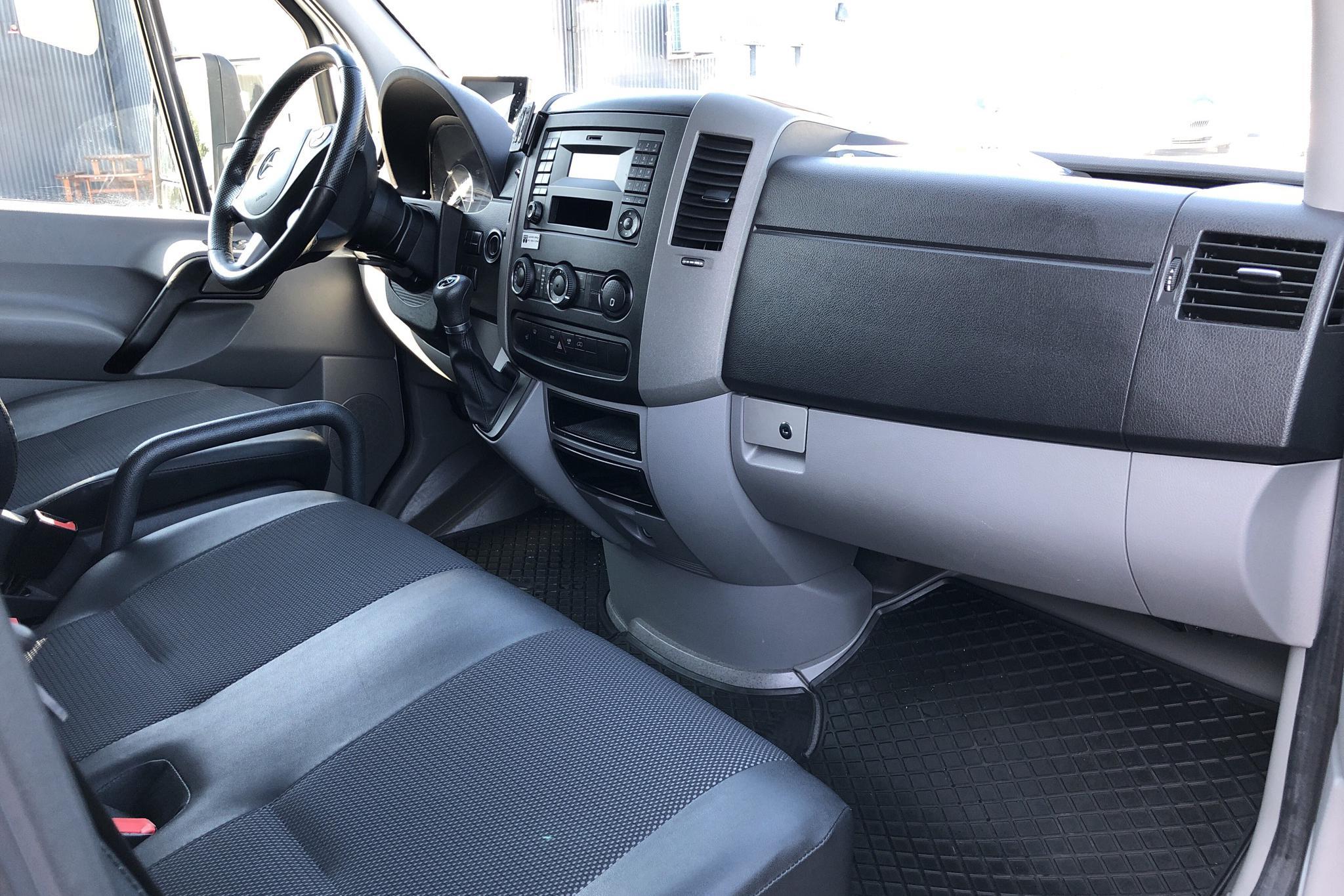 Mercedes Sprinter 316 CDI Pickup/Chassi (163hk) - 20 946 mil - Automat - vit - 2017