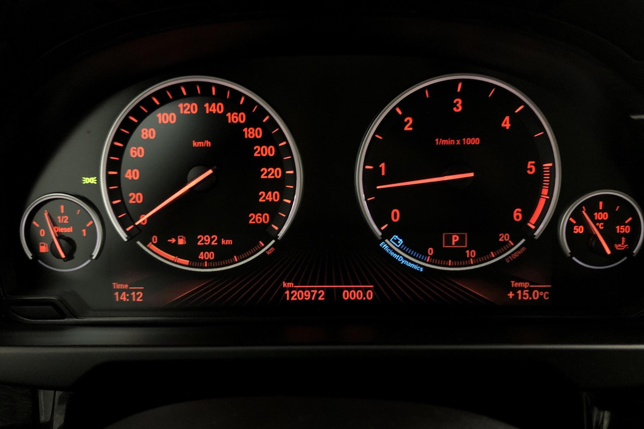 BMW X5 xDrive30d, F15 (258hk) - 12 097 mil - Automat - svart - 2014