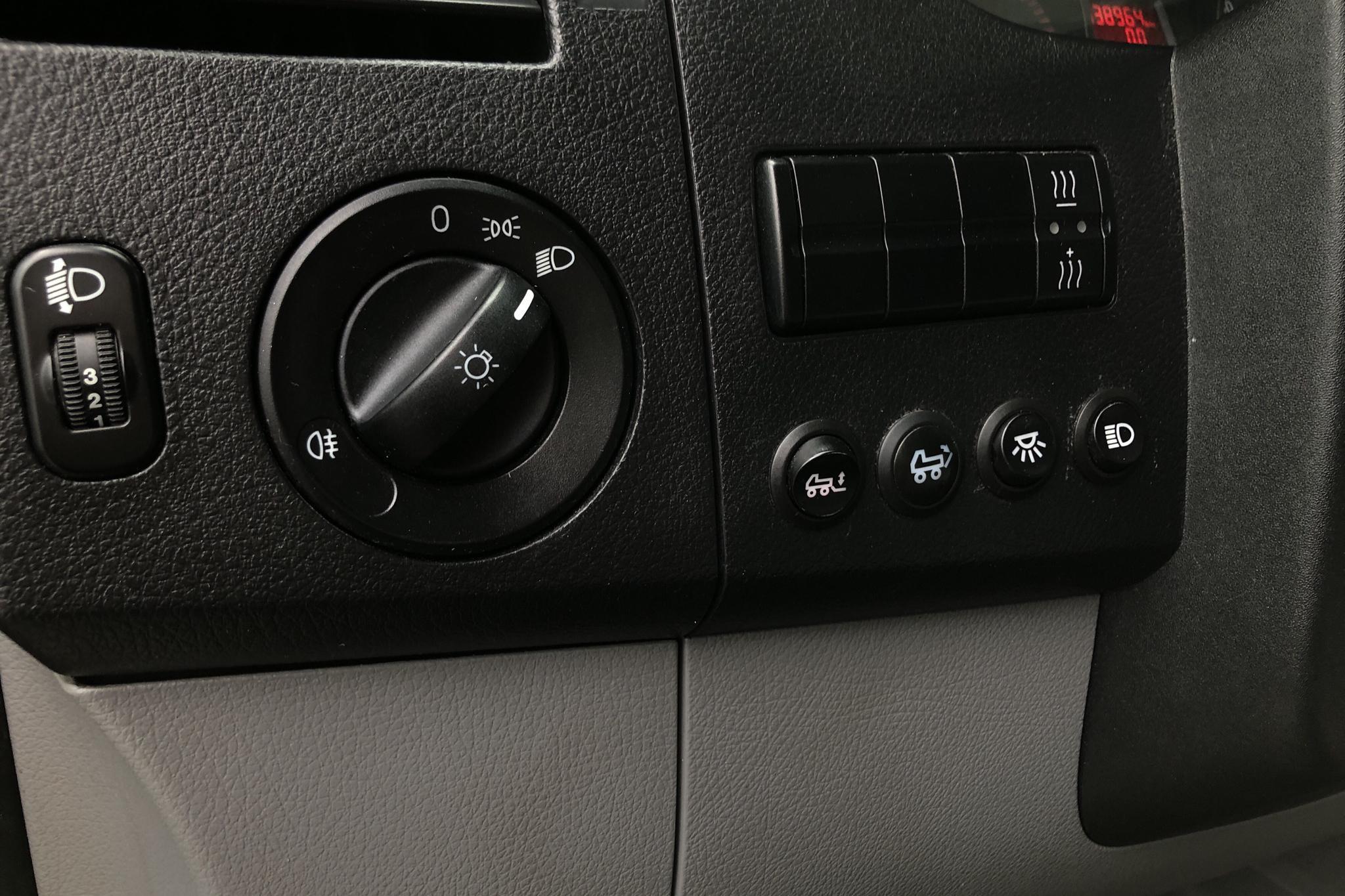 VW Crafter 35 2.5 TDI Volymskåp (163hk) - 33 896 mil - Manuell - vit - 2011