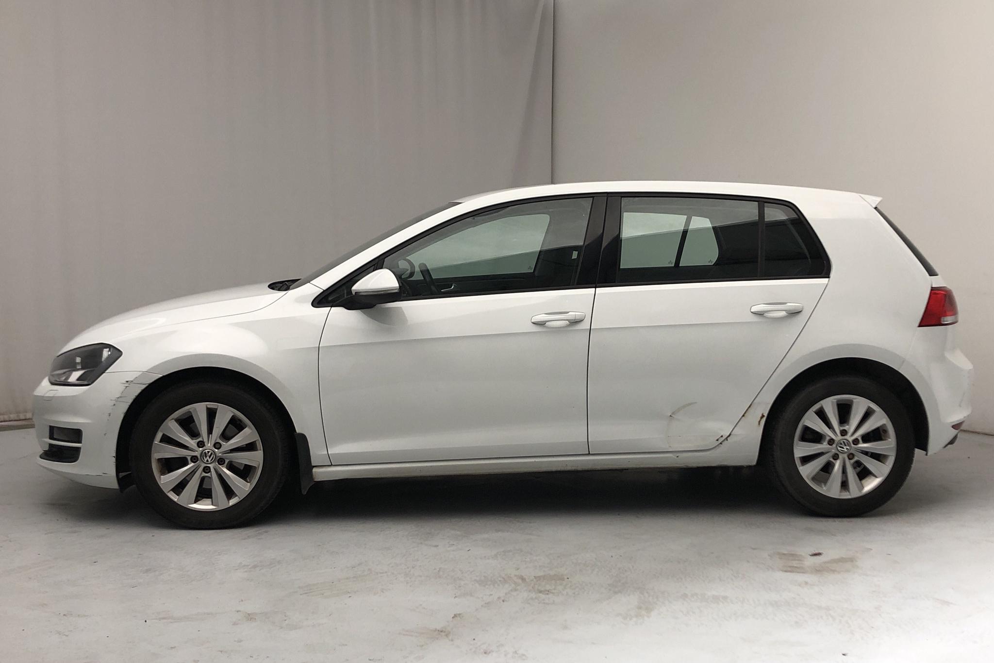 VW Golf VII 1.4 TSI Multifuel 5dr (122hk) - 106 540 km - Manual - white - 2014