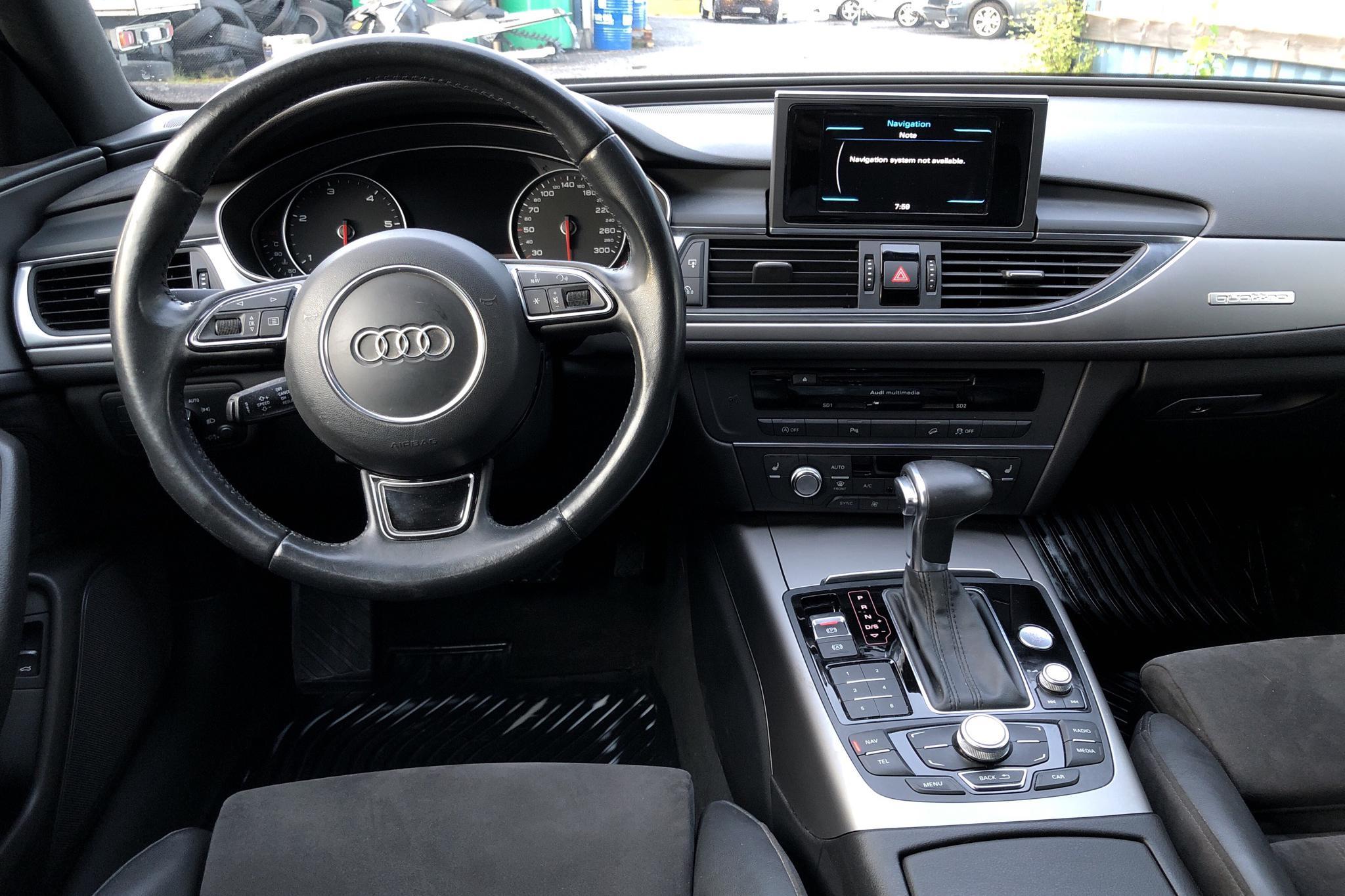 Audi A6 Allroad 3.0 TDI quattro (204hk) - 16 734 mil - Automat - svart - 2014