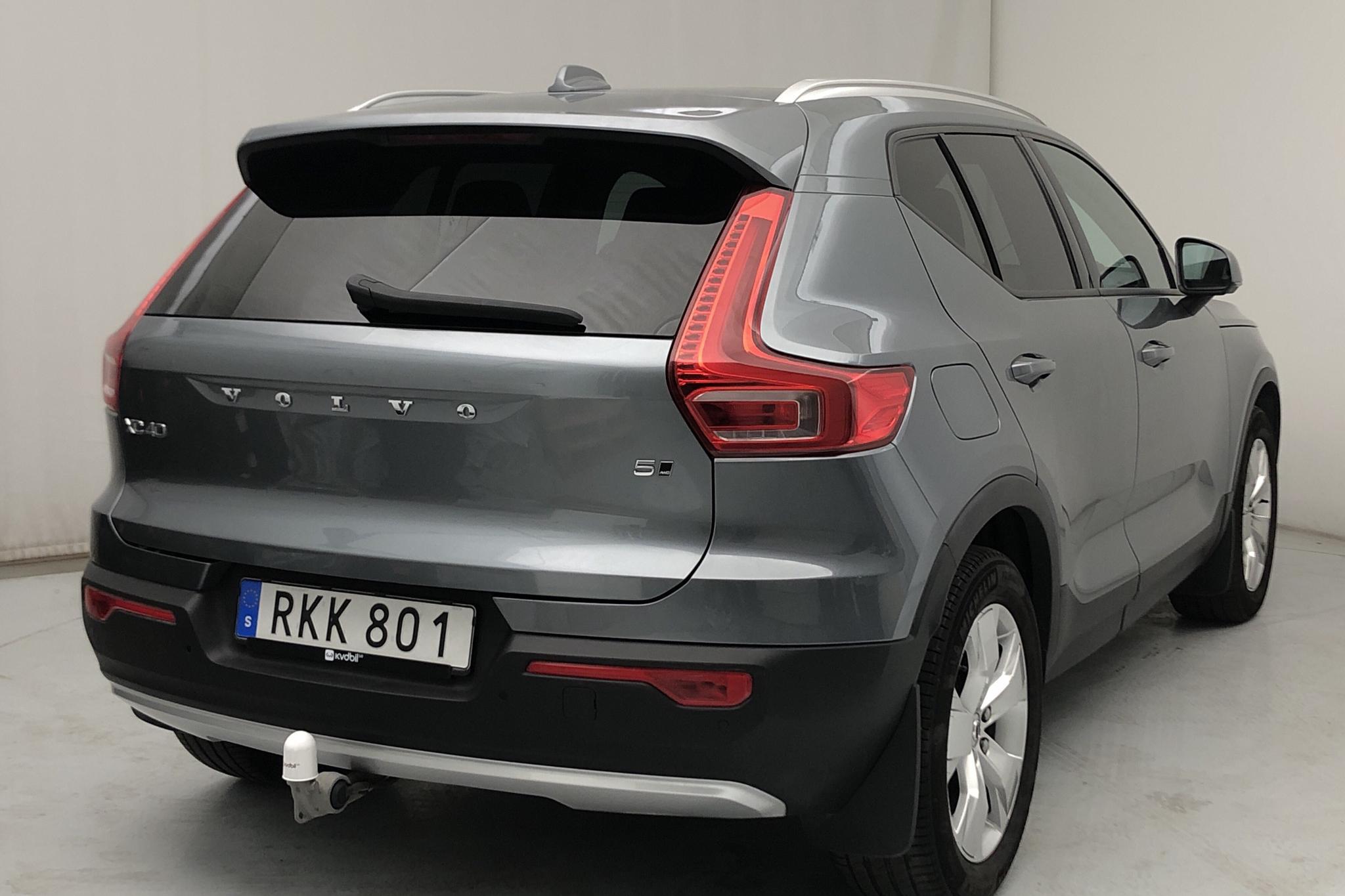 Volvo XC40 T5 AWD (247hk) - 81 180 km - Automatic - gray - 2019