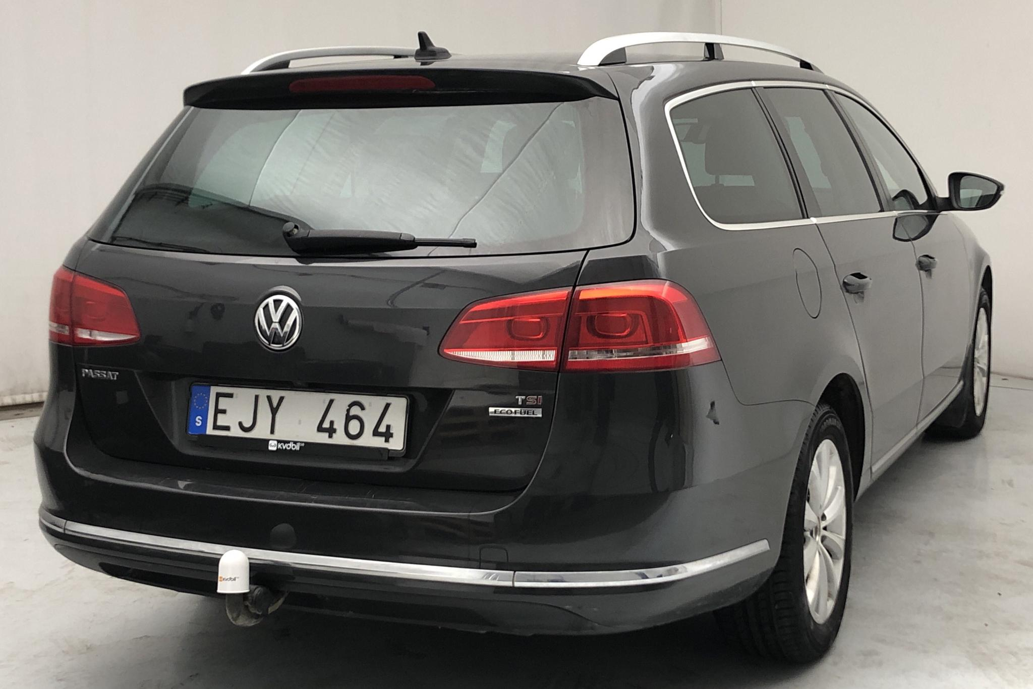 VW Passat 1.4 TSI EcoFuel Variant (150hk) - 19 593 mil - Manuell - Dark Grey - 2013