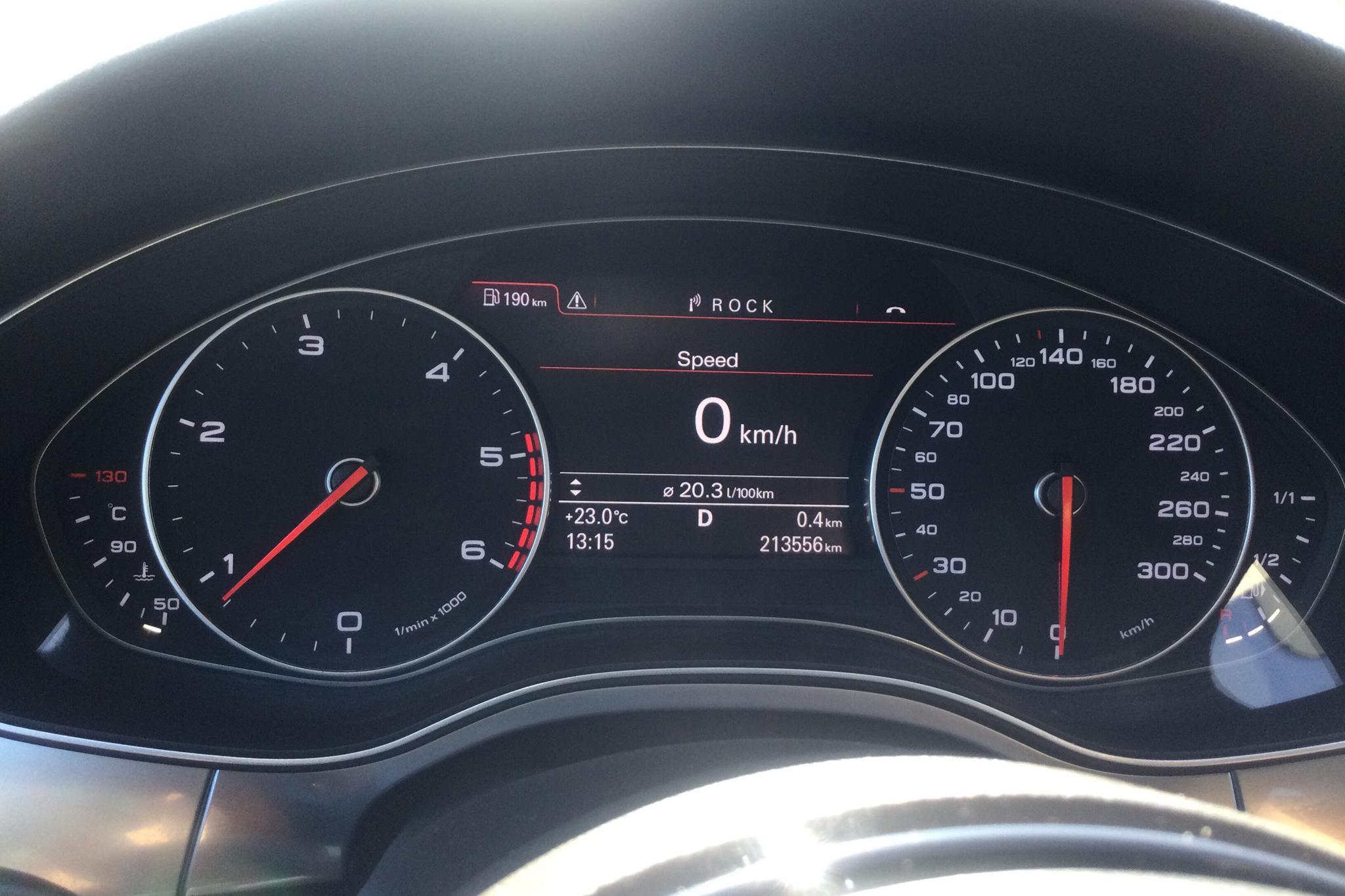 Audi A6 2.0 TDI Avant (177hk) - 213 550 km - Automatic - silver - 2012