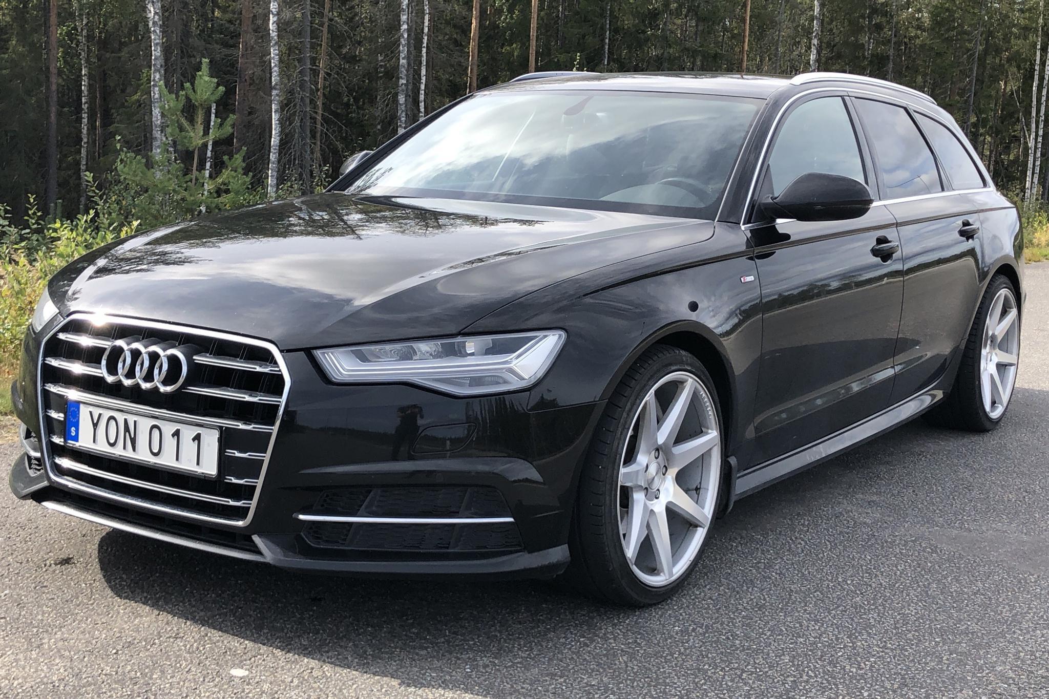 Audi A6 2.0 TDI Avant (190hk) - 6 547 mil - Automat - svart - 2018
