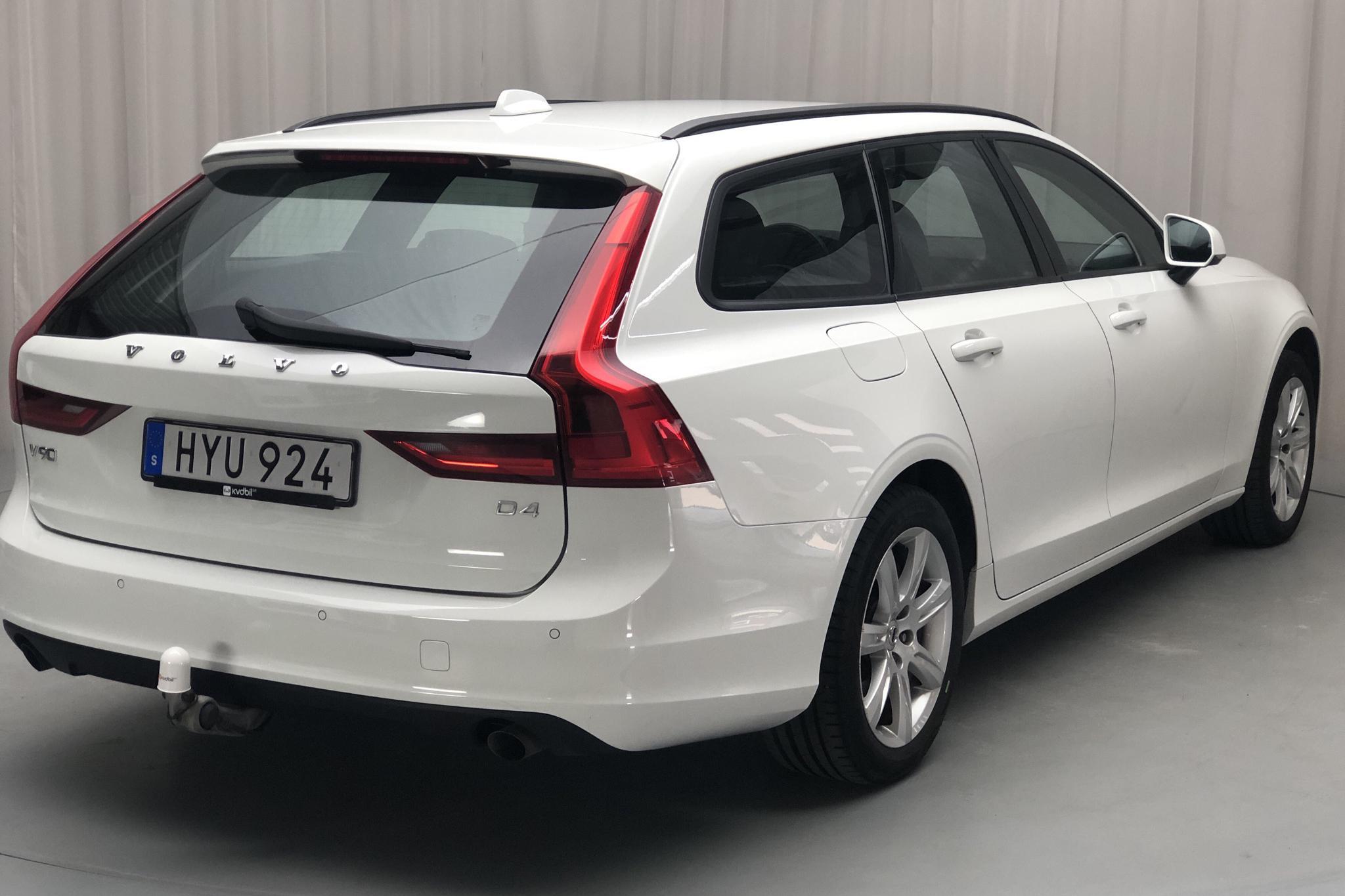 Volvo V90 D4 (190hk) - 9 428 mil - Automat - vit - 2018