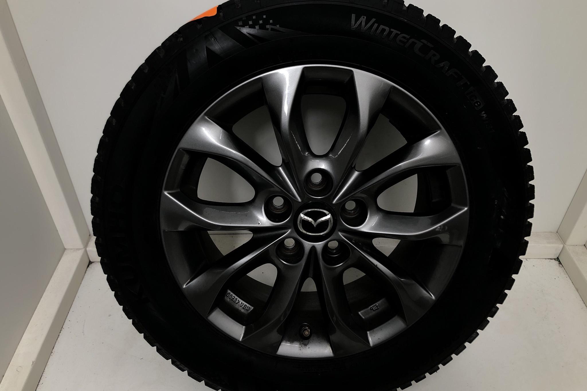 Mazda 3 2.0 5dr (120hk) - 7 160 mil - Manuell - svart - 2018