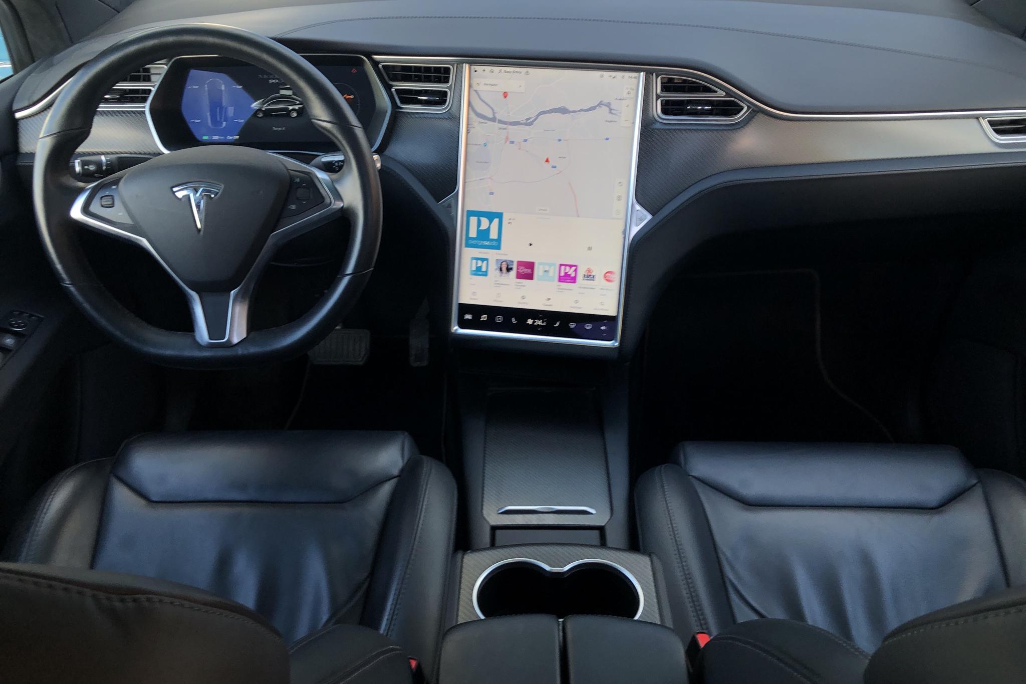 Tesla Model X 90D - 137 560 km - Automatic - gray - 2017