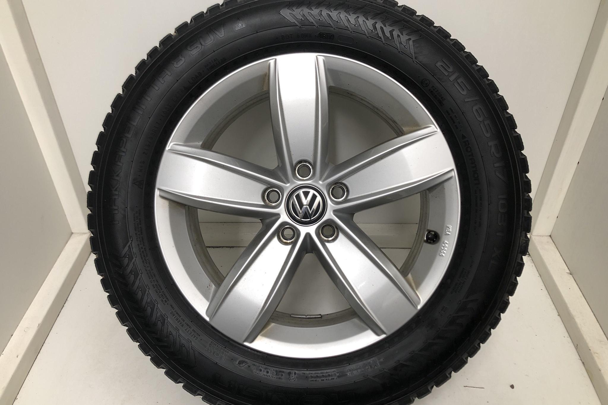 VW Tiguan 2.0 TDI 4MOTION (190hk) - 12 083 mil - Automat - silver - 2017
